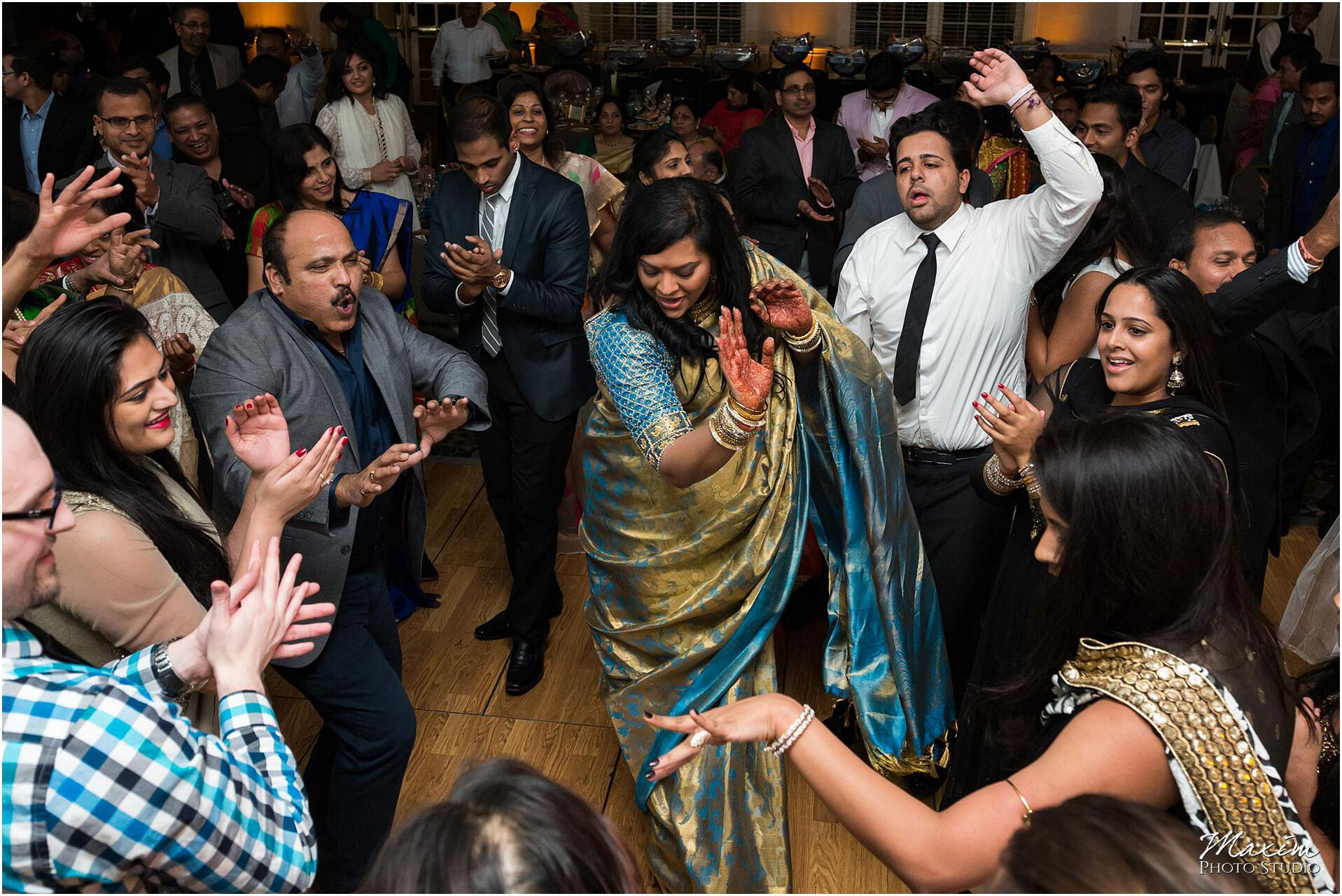 Manor House Indian Engagement Reception bride dance