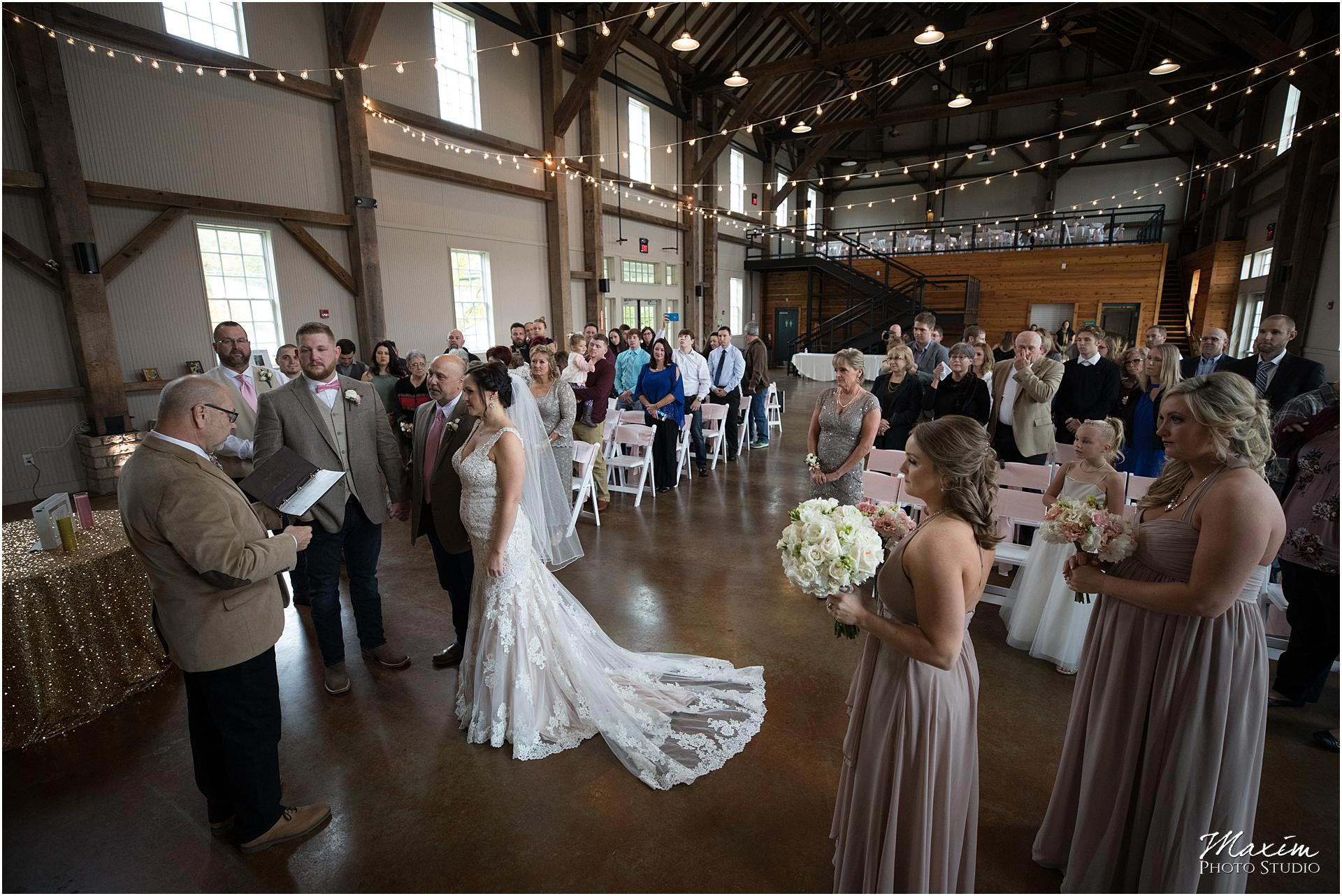 Muhlhauser Barn Wedding Ceremony