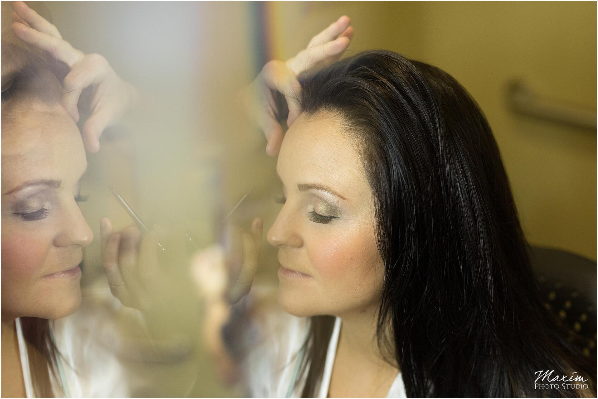 Hilton Garden Inn Austin Landing bride makeup