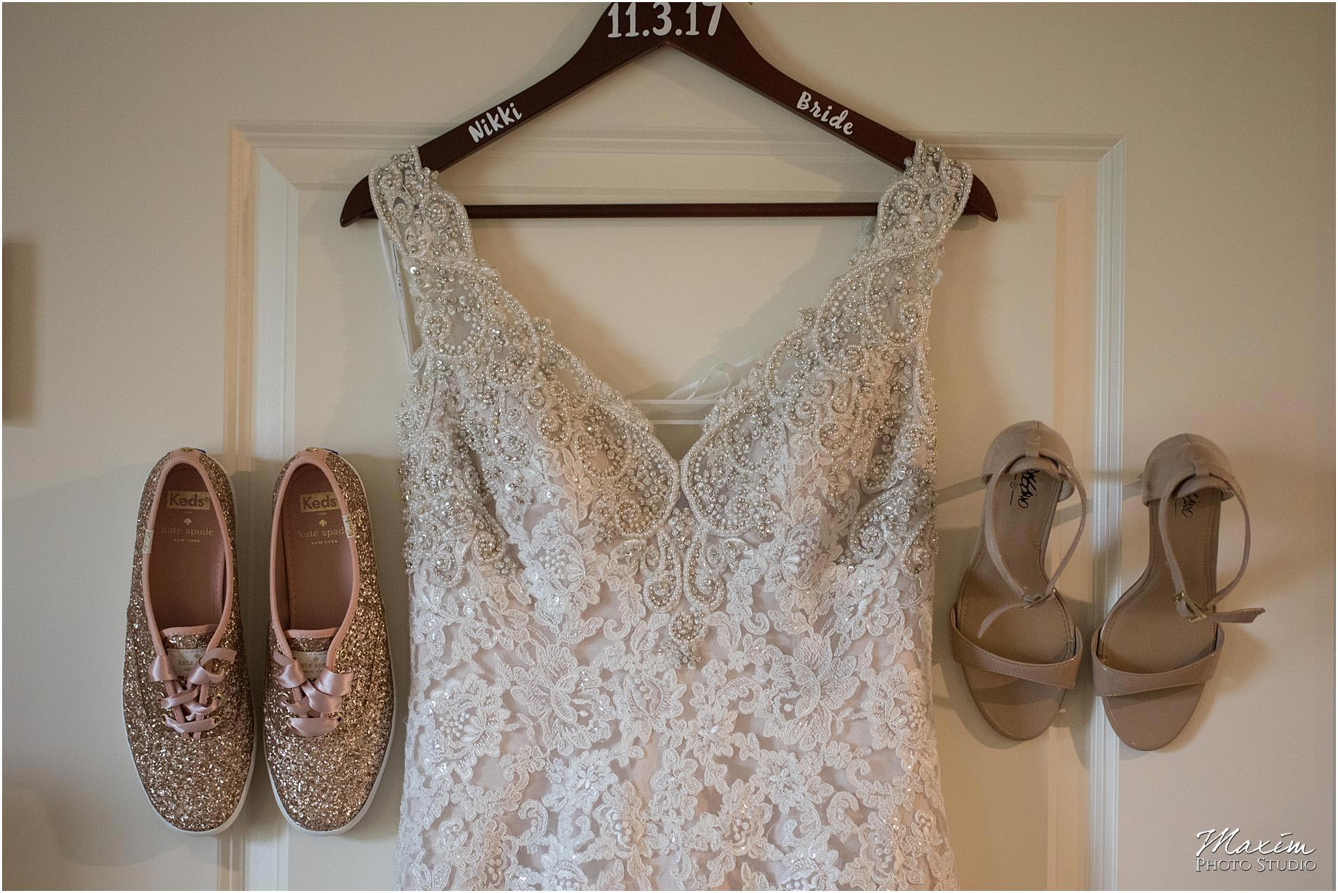 Hilton Garden Inn Austin Landing bride dress