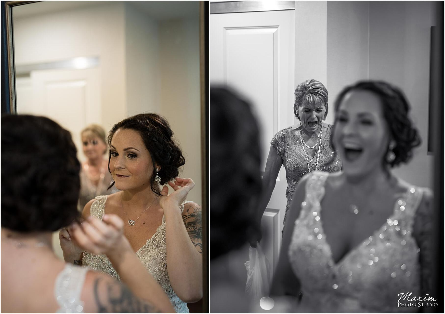 Hilton Garden Inn Austin Landing dress bride