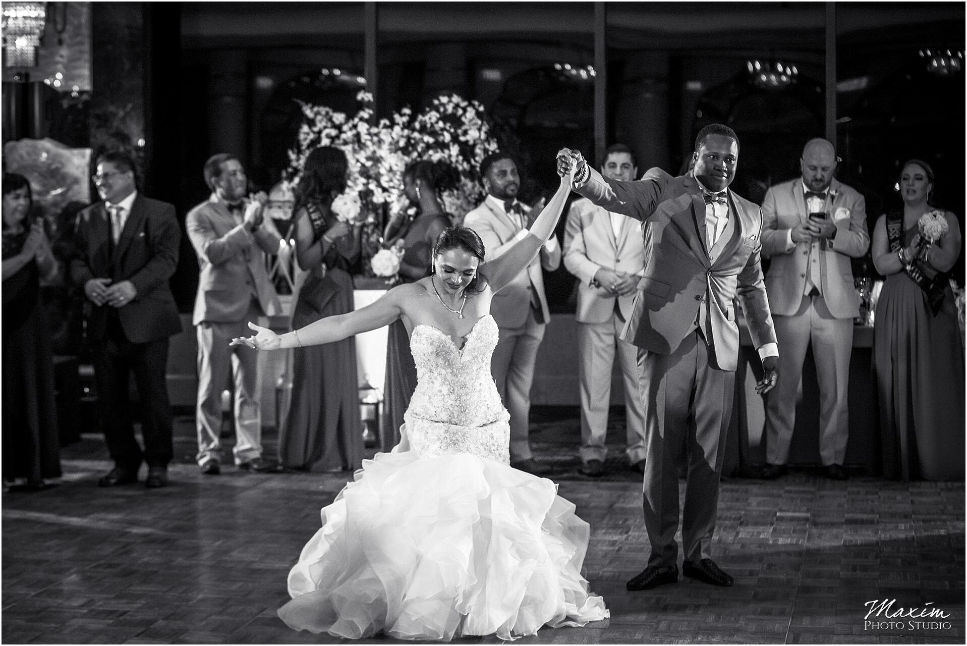 Condado Vanderbilt Wedding Reception First Dance