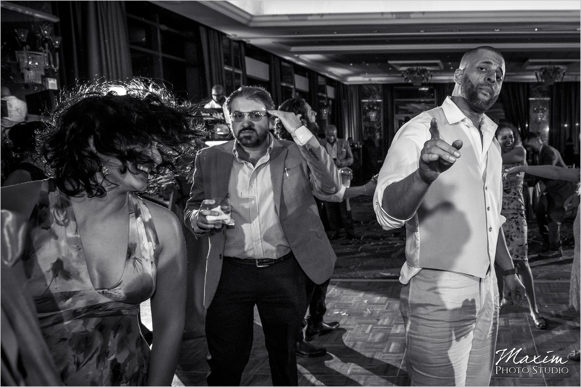 Condado Vanderbilt Wedding Reception Party photos