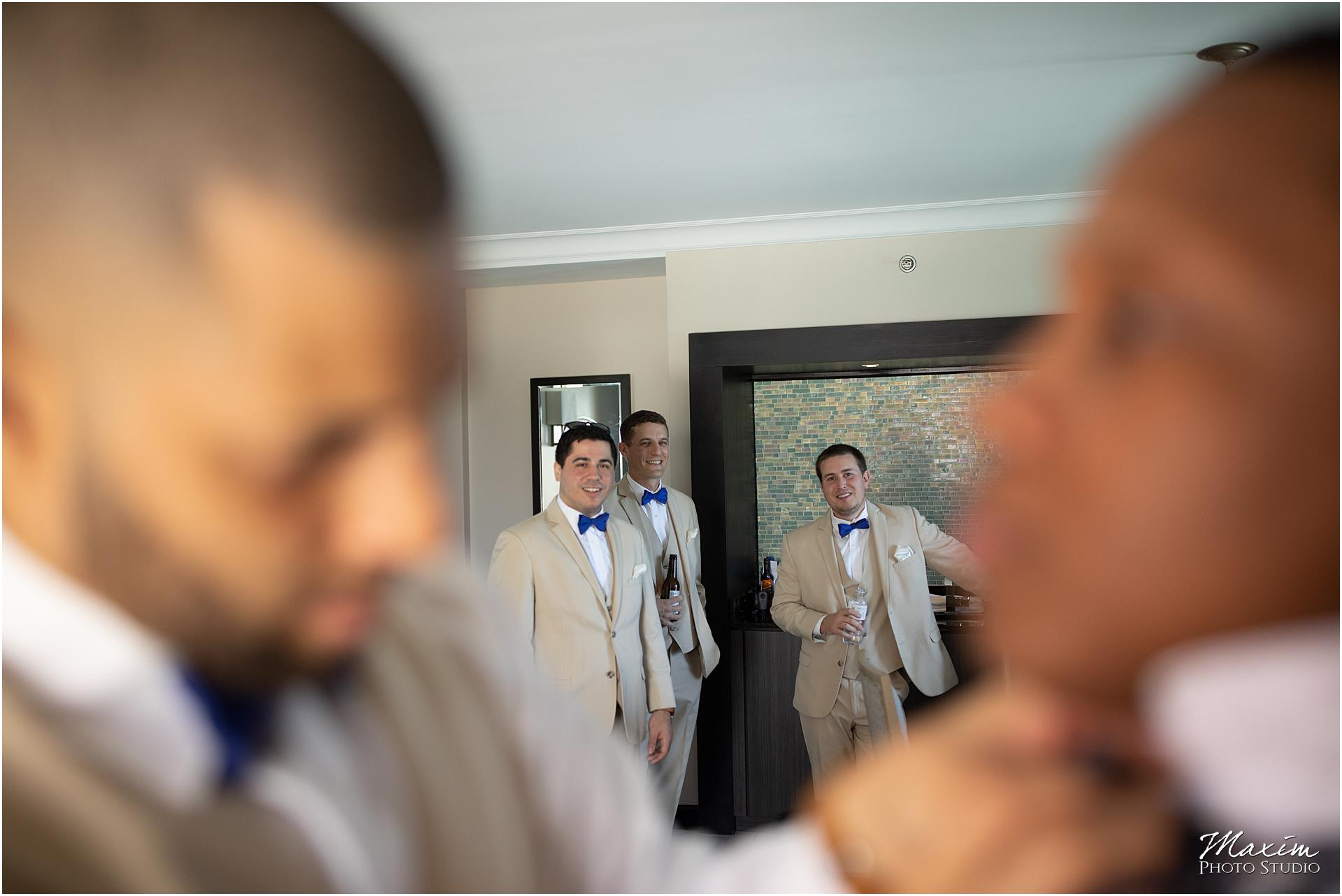Condado Vanderbilt San Juan Puerto Rico Groom Wedding Preparations