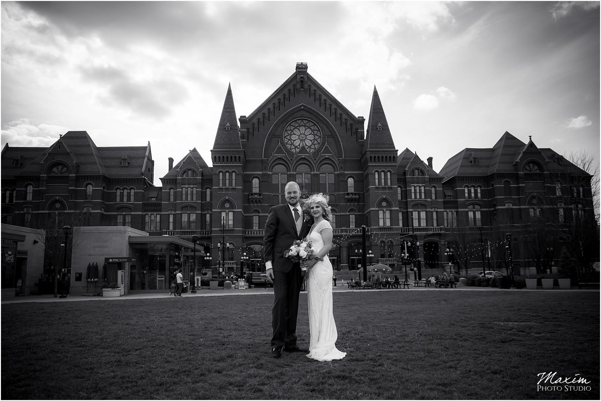 Washington Park Cincinnati wedding Portraits