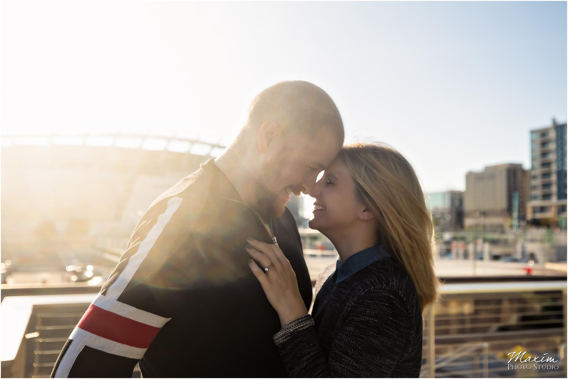 Smale Riverfront Park Best engagement photography