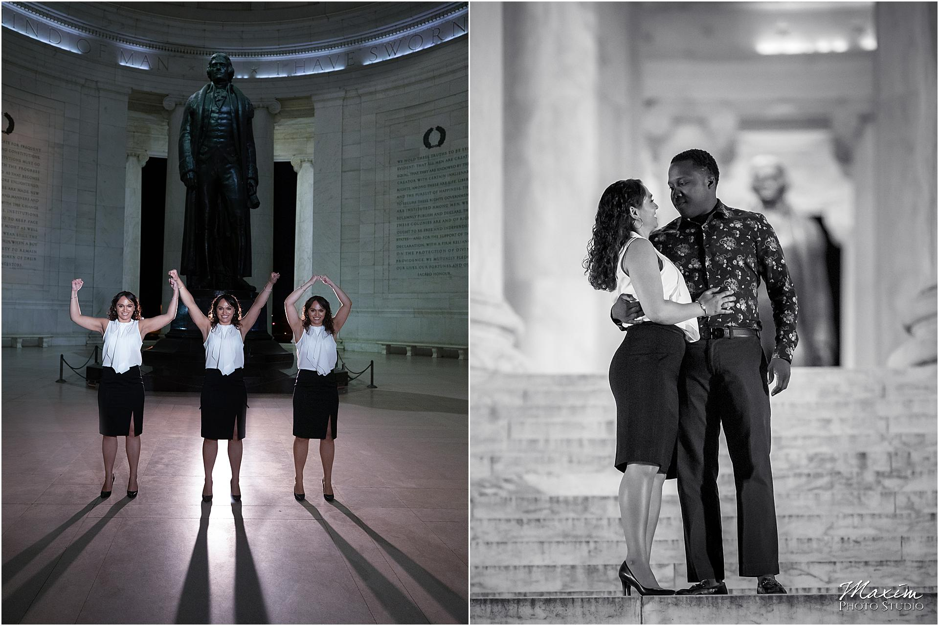 Thomas Jefferson Memorial Engagement