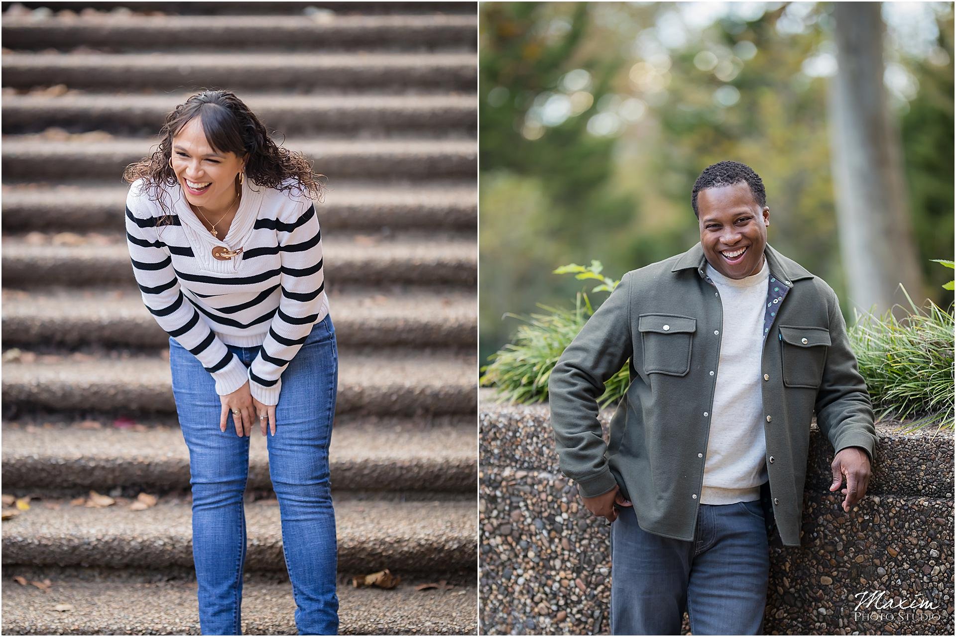 Meridian Hill Park Engagement Photography