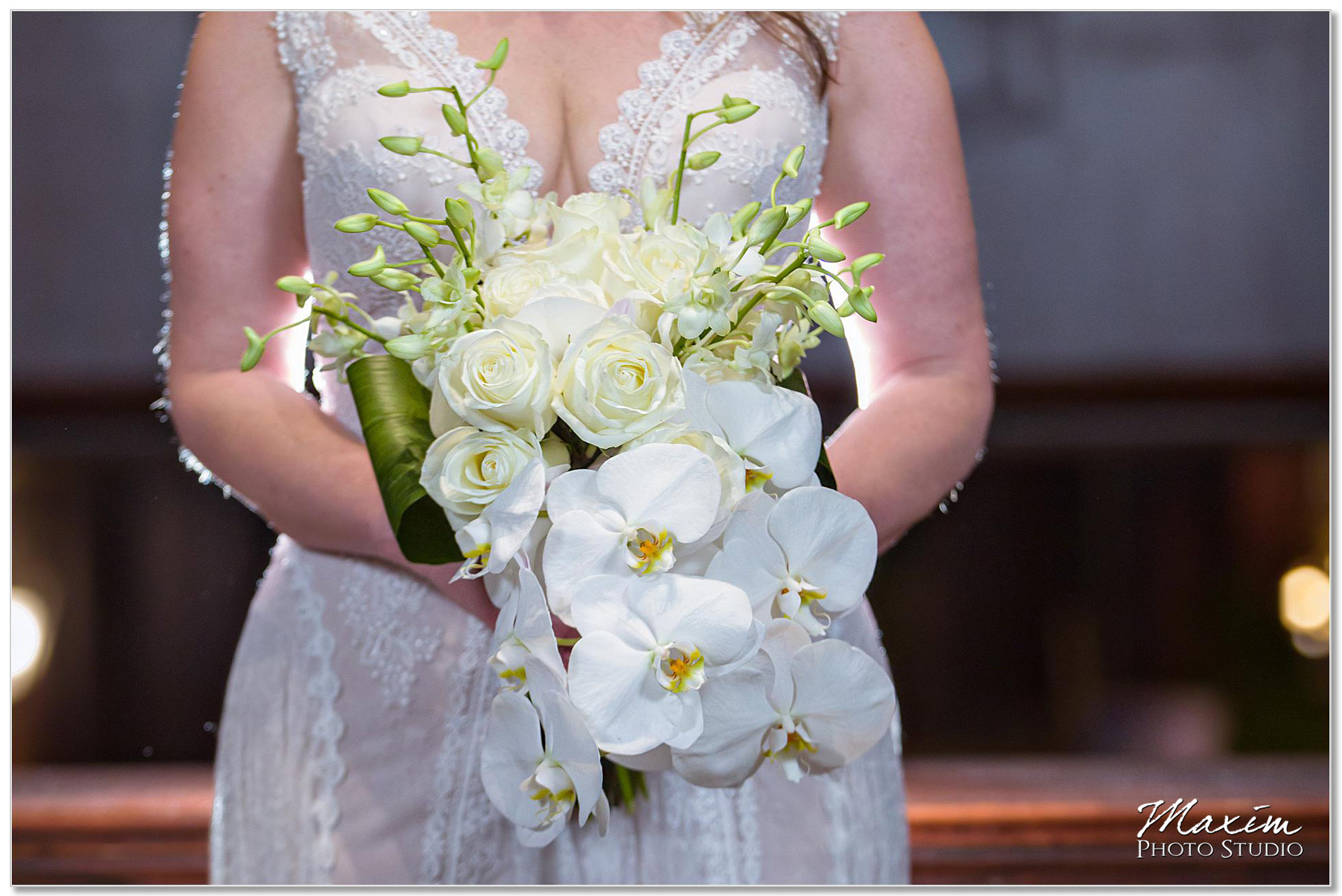 Cincinnati Wedding day flowers