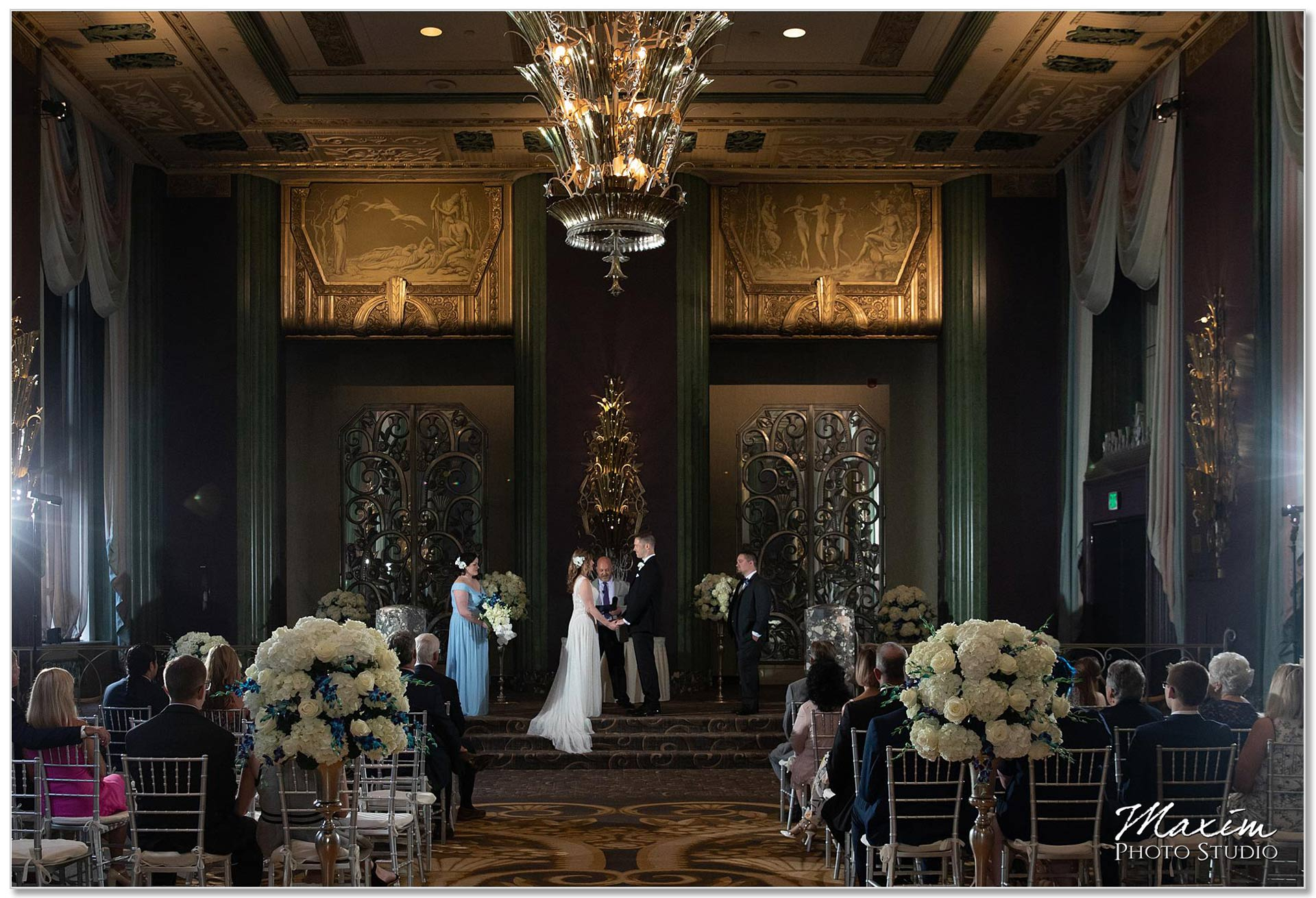 Continental Room wedding ceremony