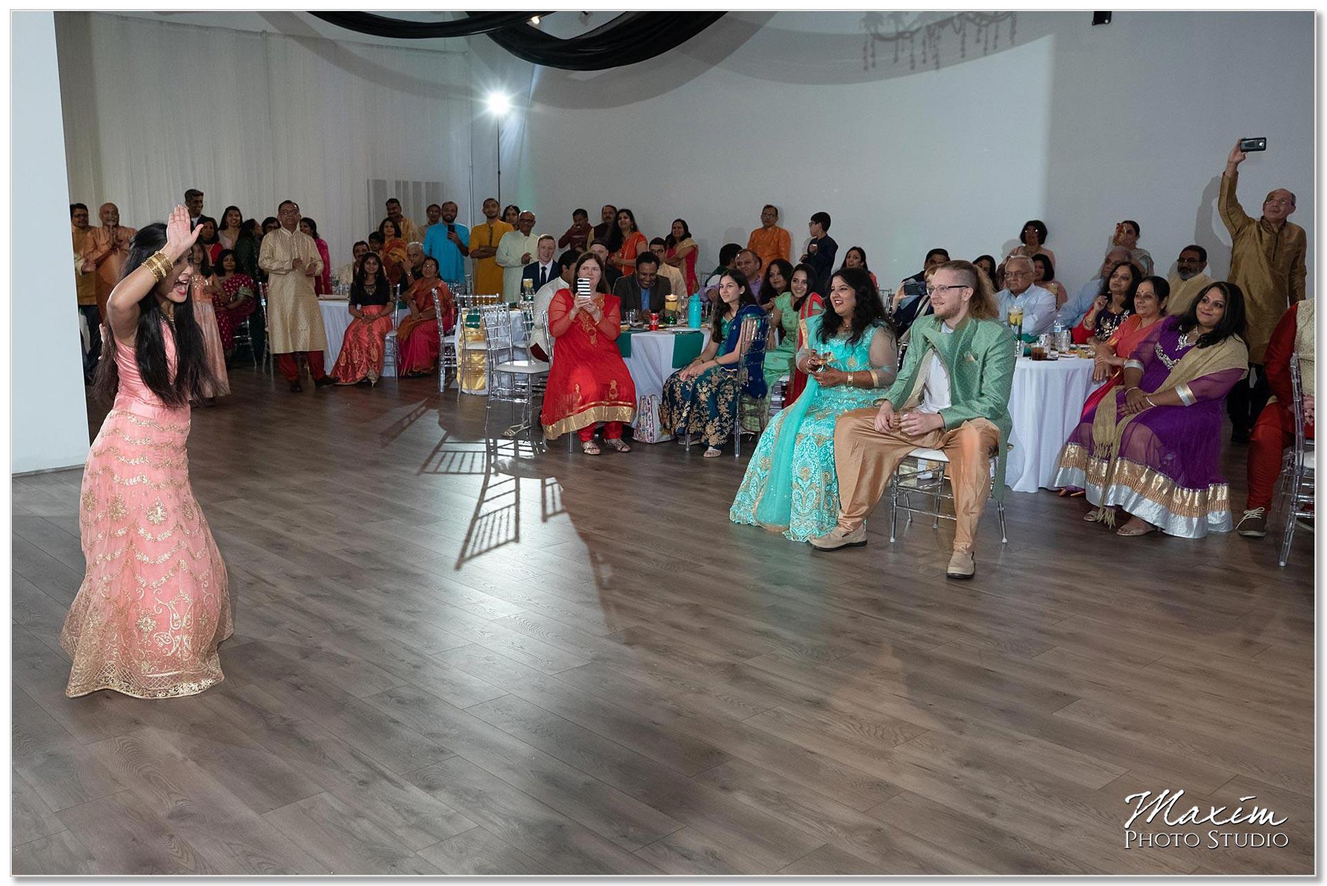 Indian Wedding Sangeet West Chester Ohio