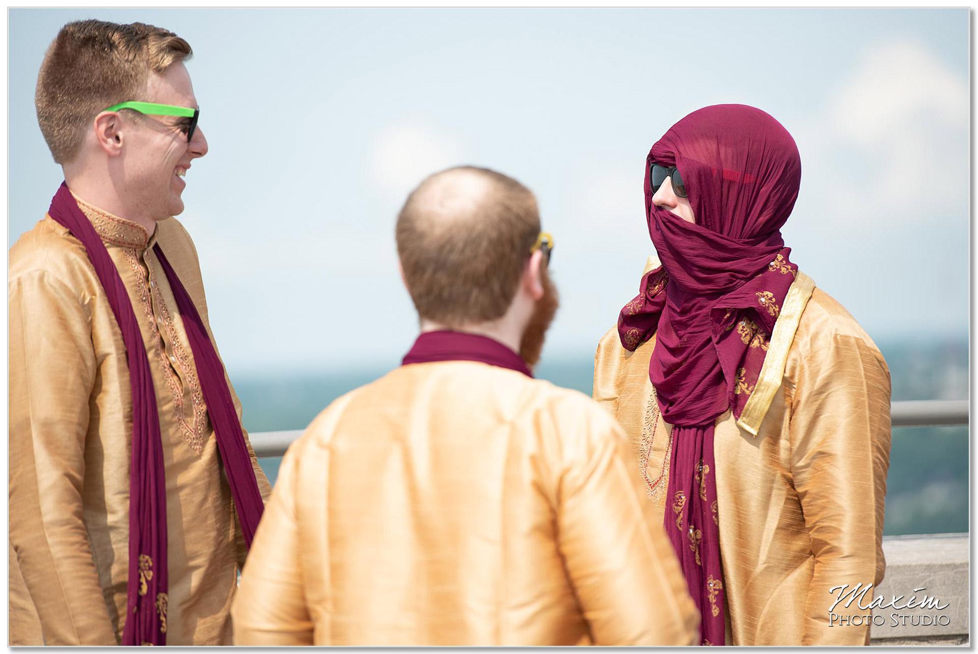 Keeping cool during Indian Wedding