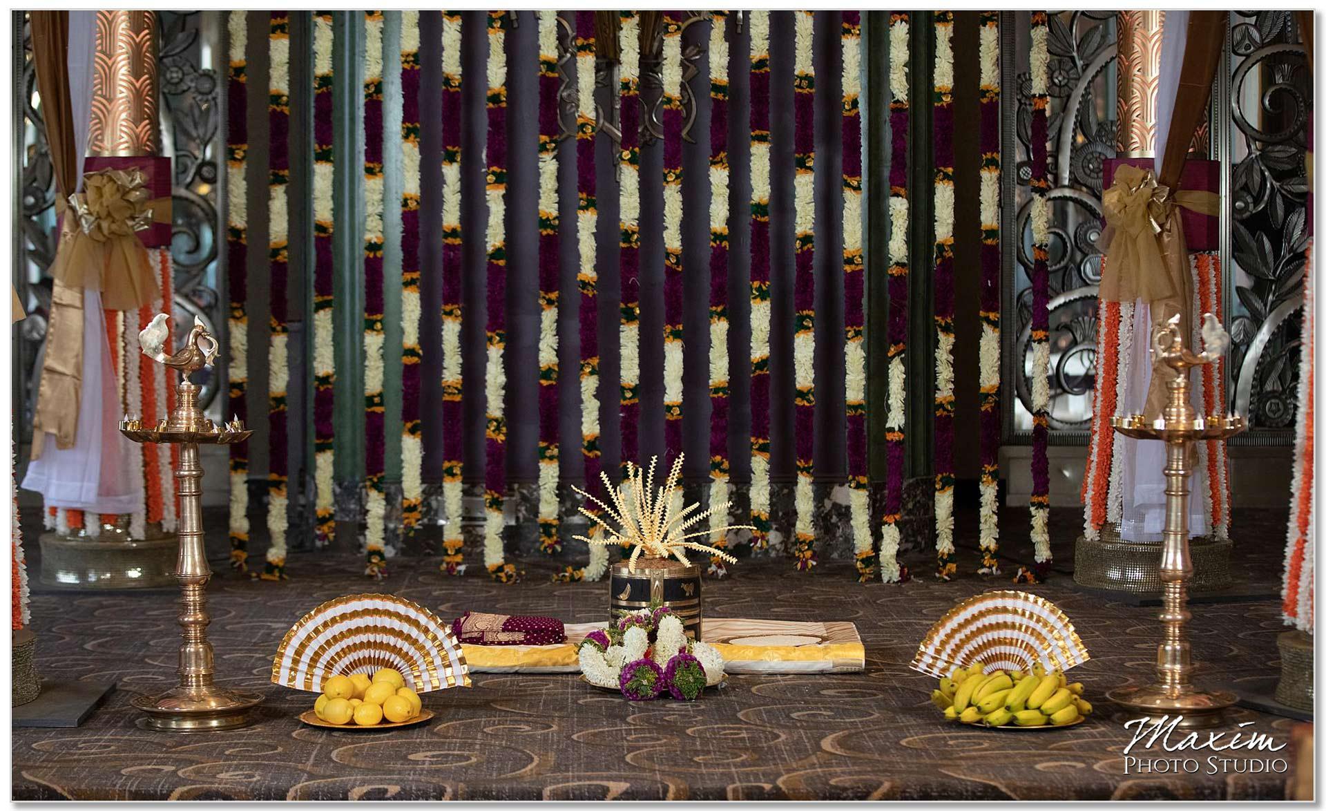 Continental Room Hilton Netherland Plaza Indian Wedding