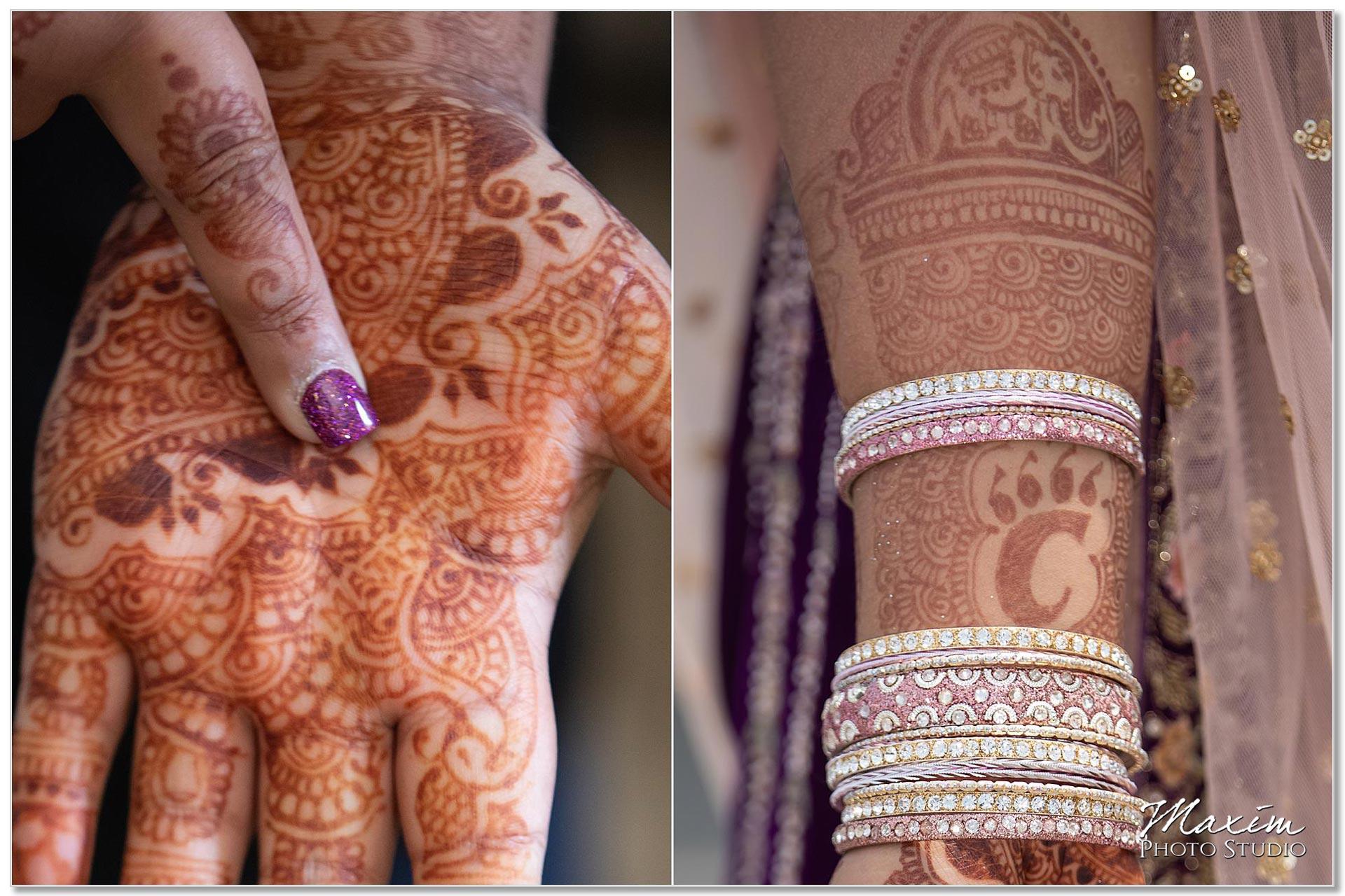 Hilton Netherland Plaza Wedding Indian Henna