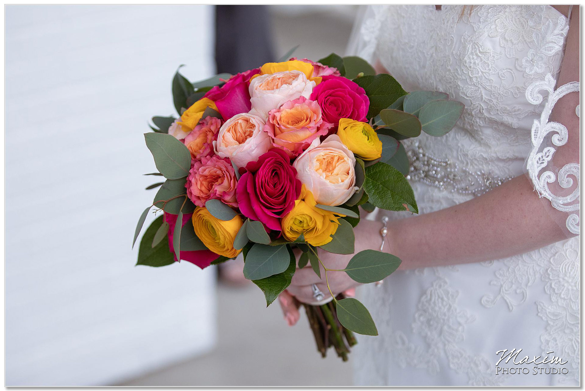 Pebble Creek Golf Club Cincinnati Wedding flowers