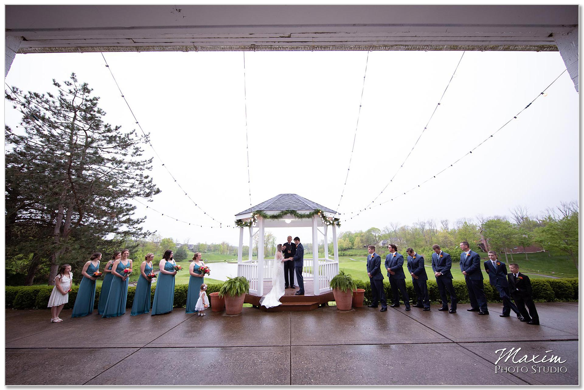 Wedding Ceremony Pebble Creek Golf Club Cincinnati