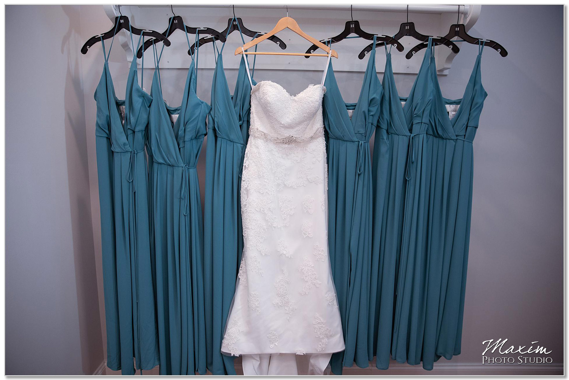 Wedding Dress, Bridesmaids Dresses, Pebble Creek Golf Club
