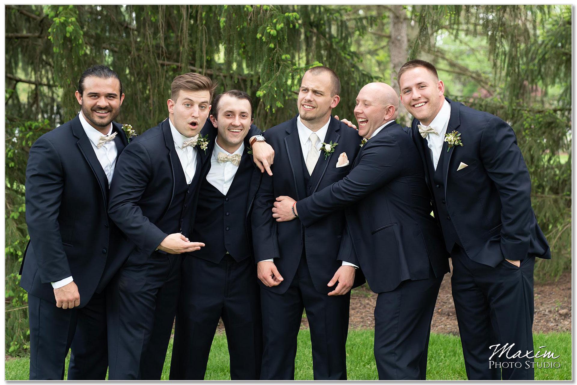 Groomsmen at Polen Farm Wedding