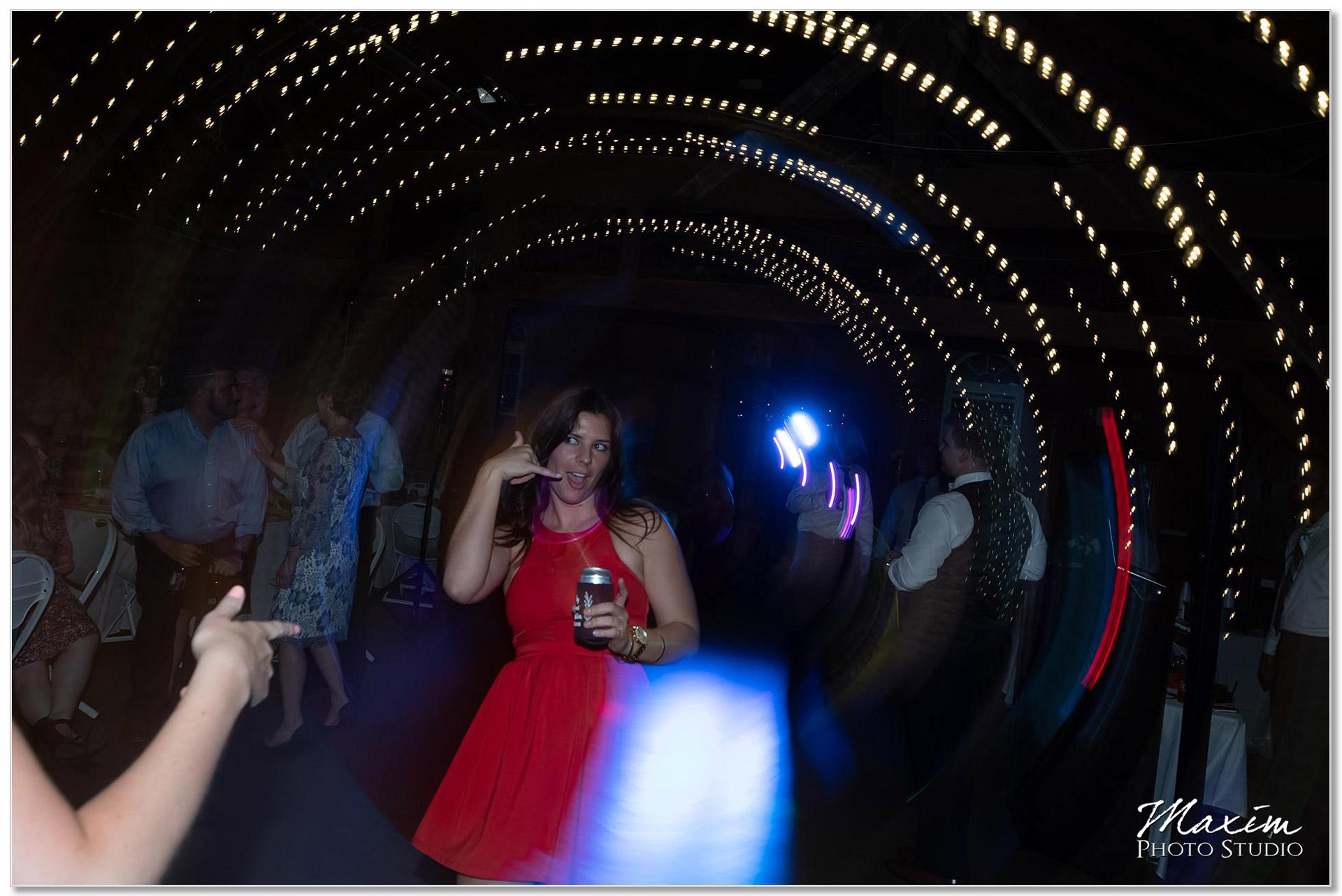 Wedding Reception Dancing Polen Farm