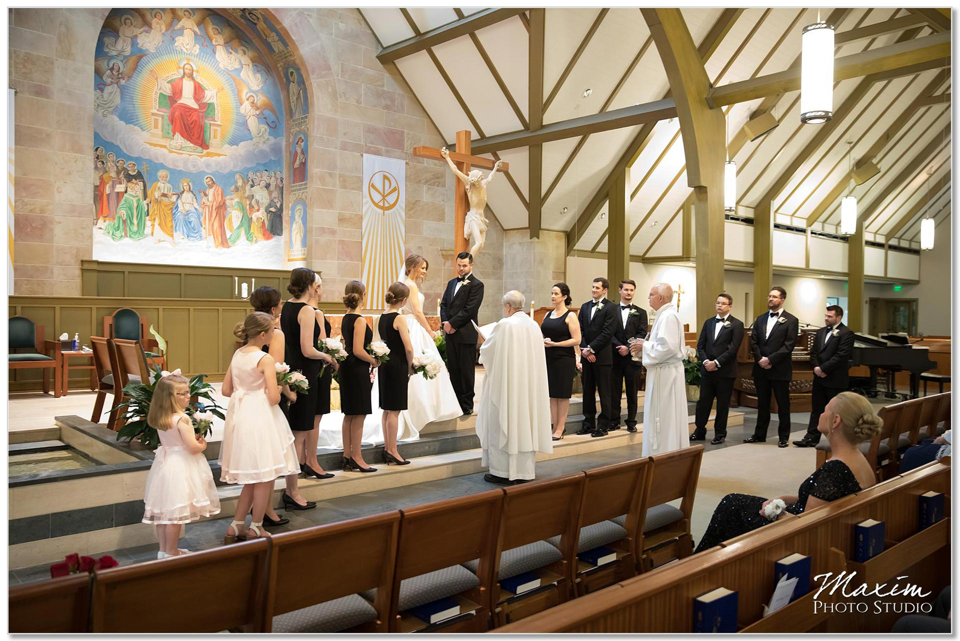 Wedding Ceremony All Saints Church Cincinnati