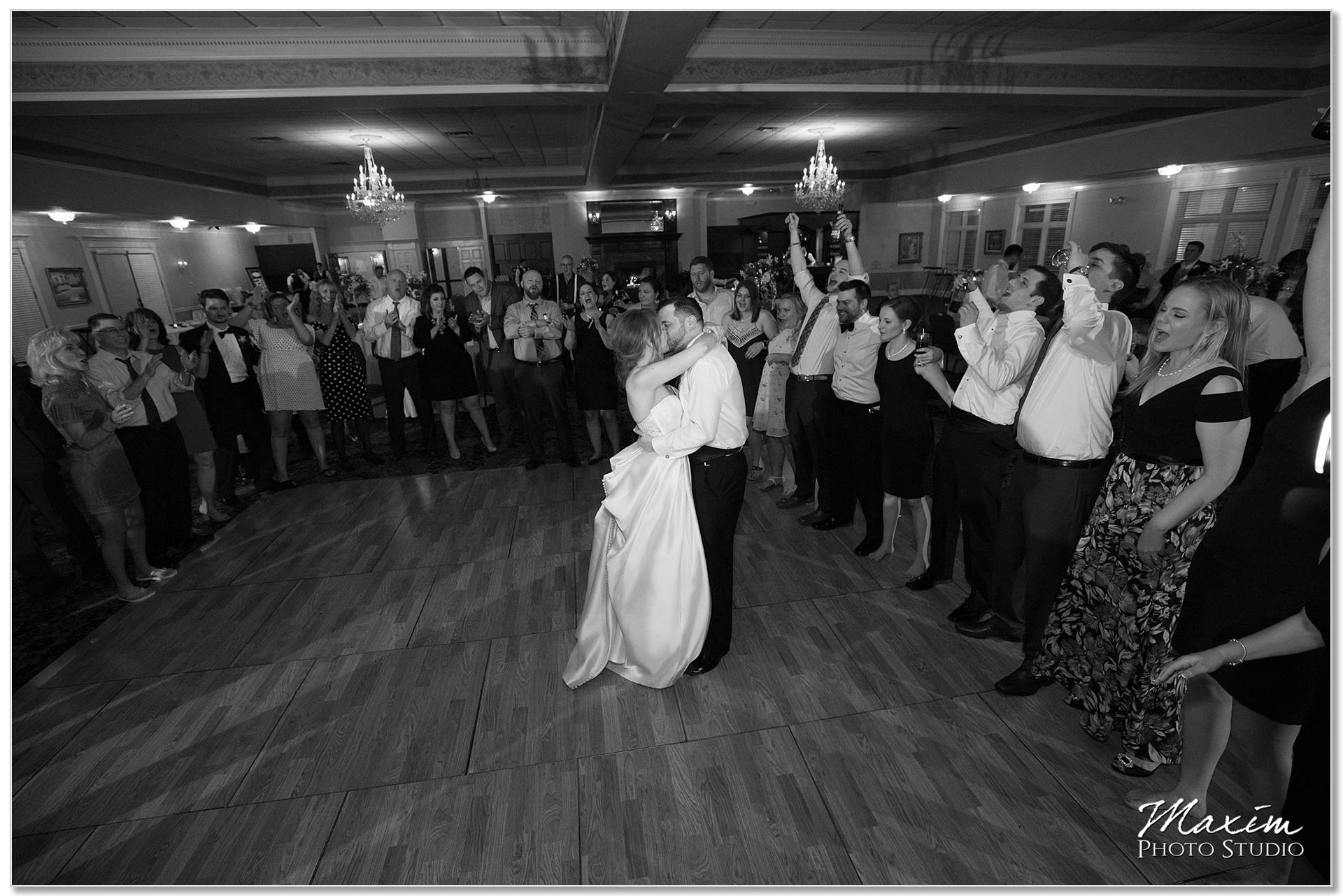 Jacqueline and Chris' last dance Manor House Ohio Wedding
