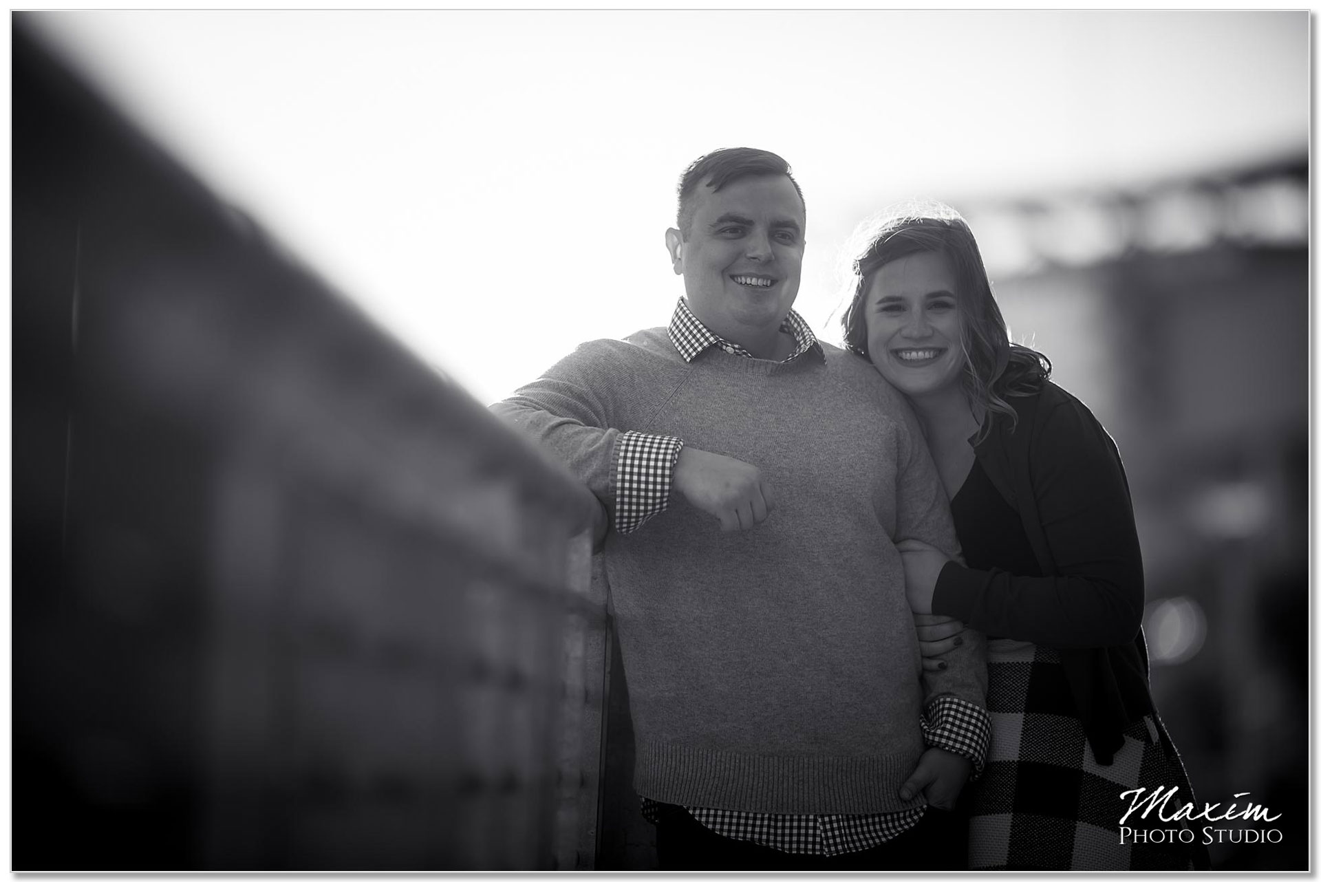 Smale Riverfront Park engagement Paul Brown Stadium
