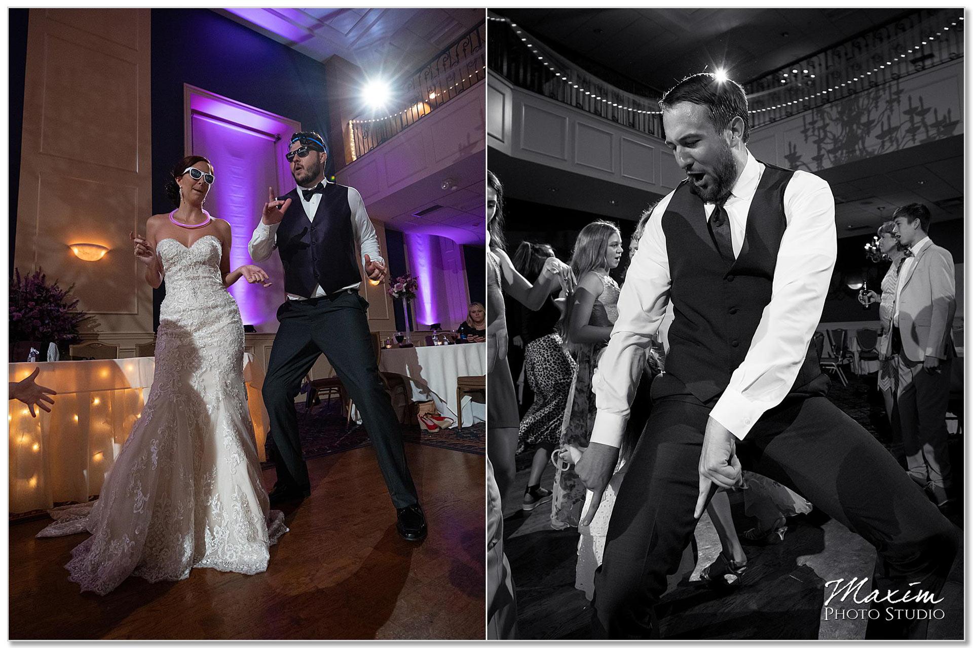 The Grand Ballroom guest dancing