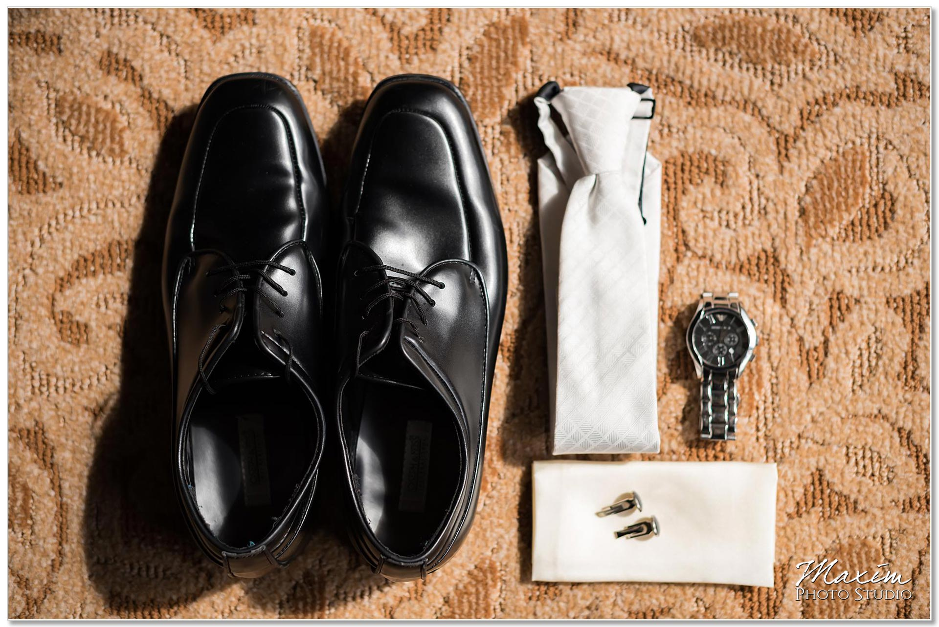 Groom Wedding Preparations Masonic Temnple