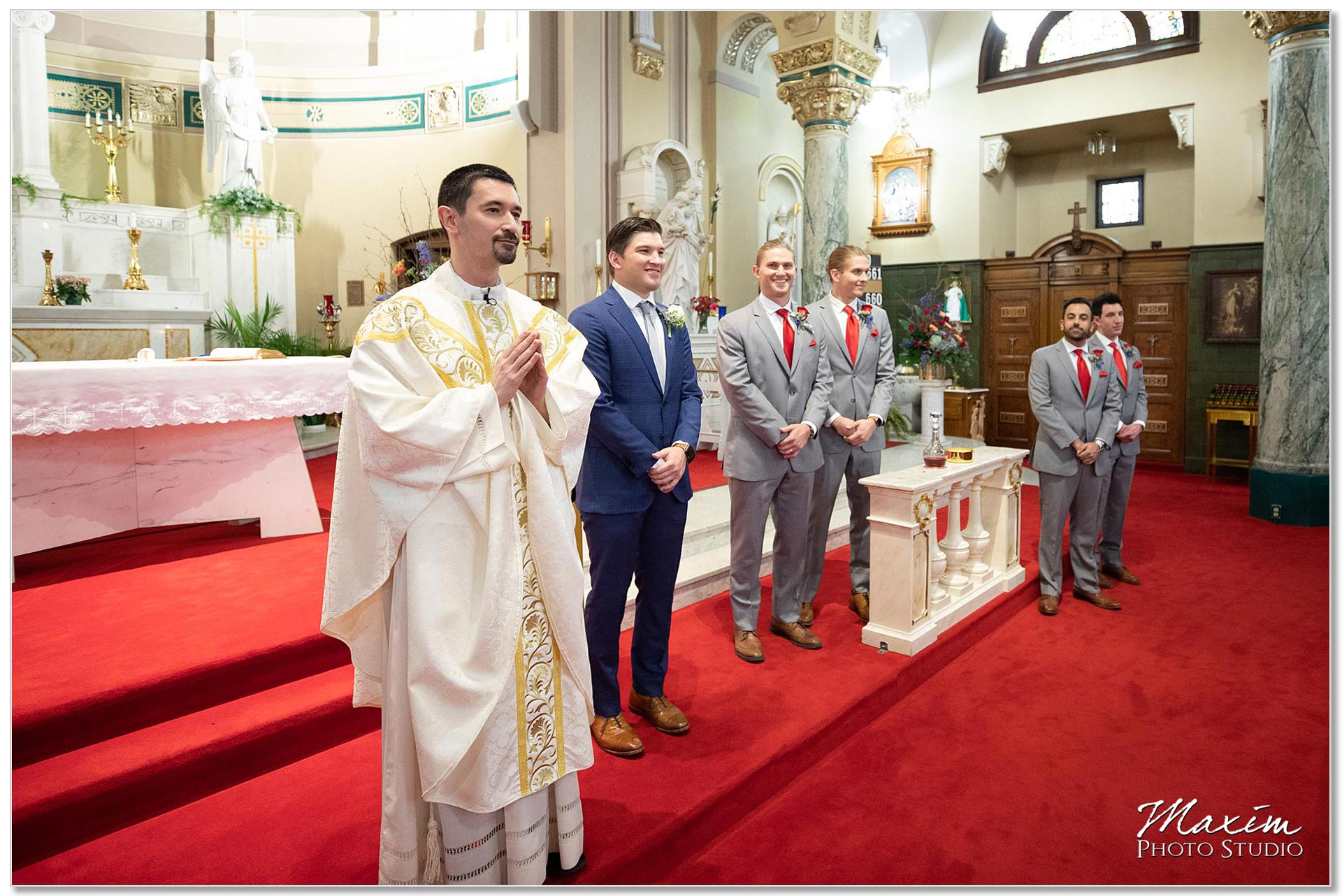 St. Joseph Catholic Church Ceremony