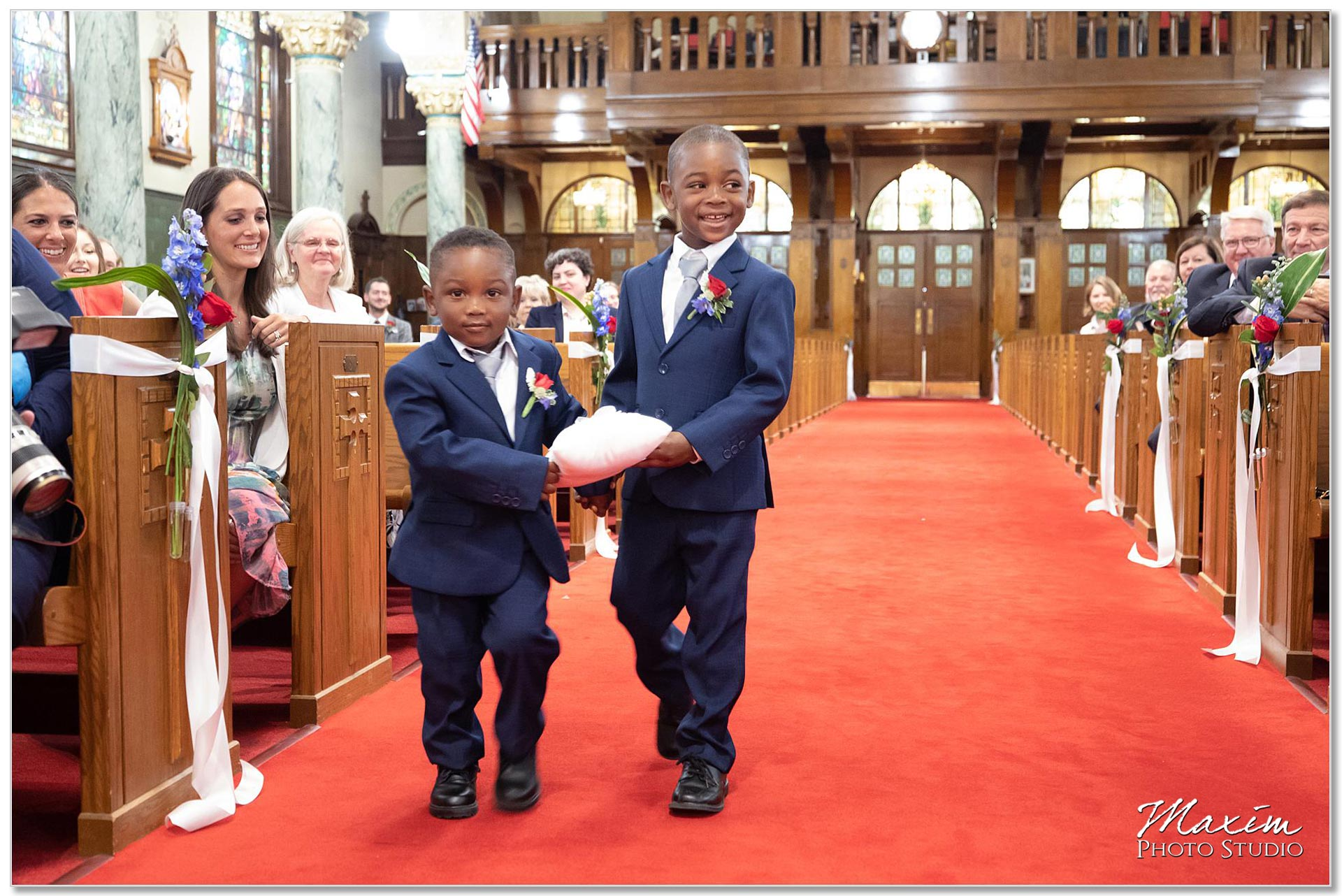 St. Joseph Catholic Church Ceremony Ring bearers