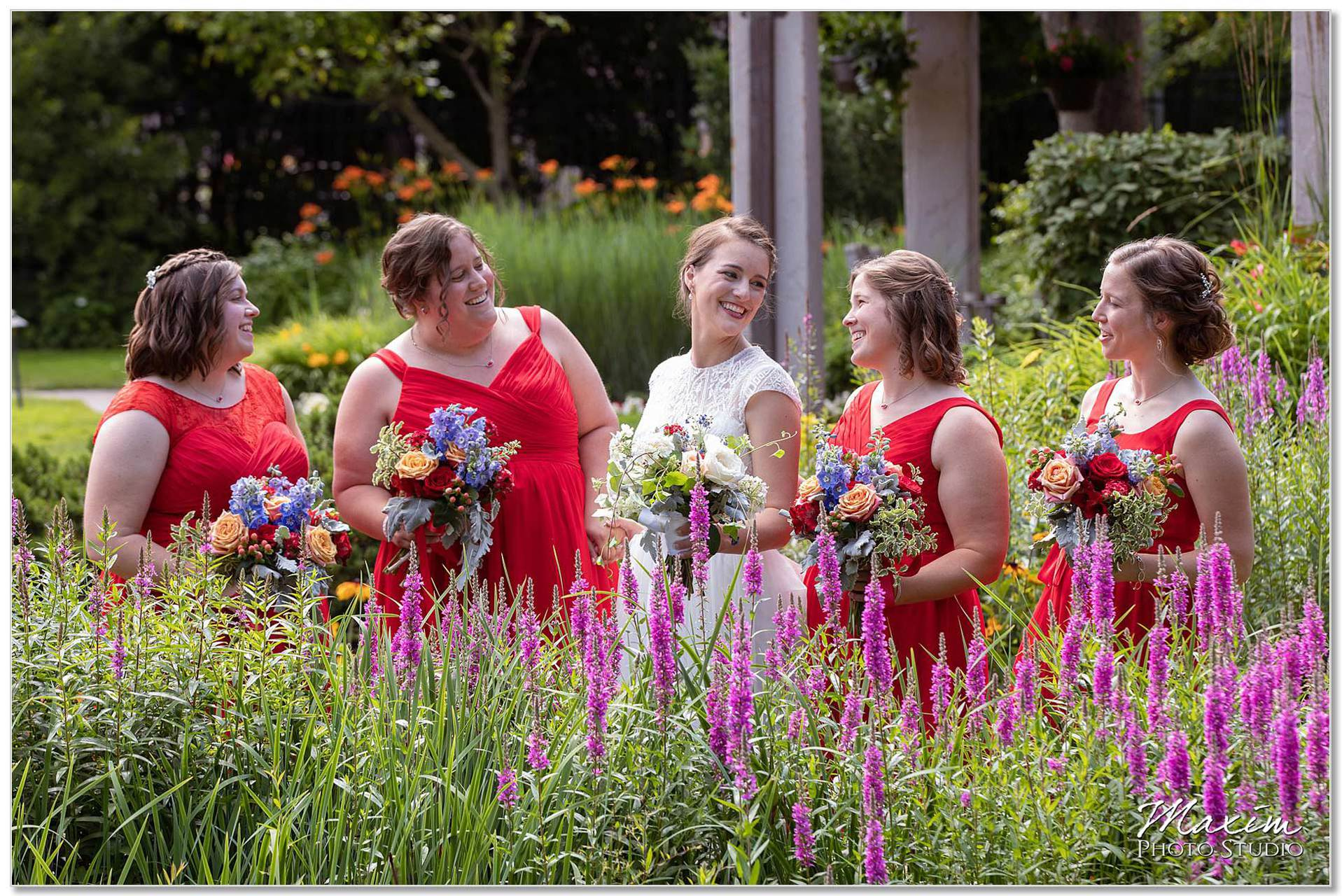 Bridesmaids Smith Gardens Oakwood Ohio