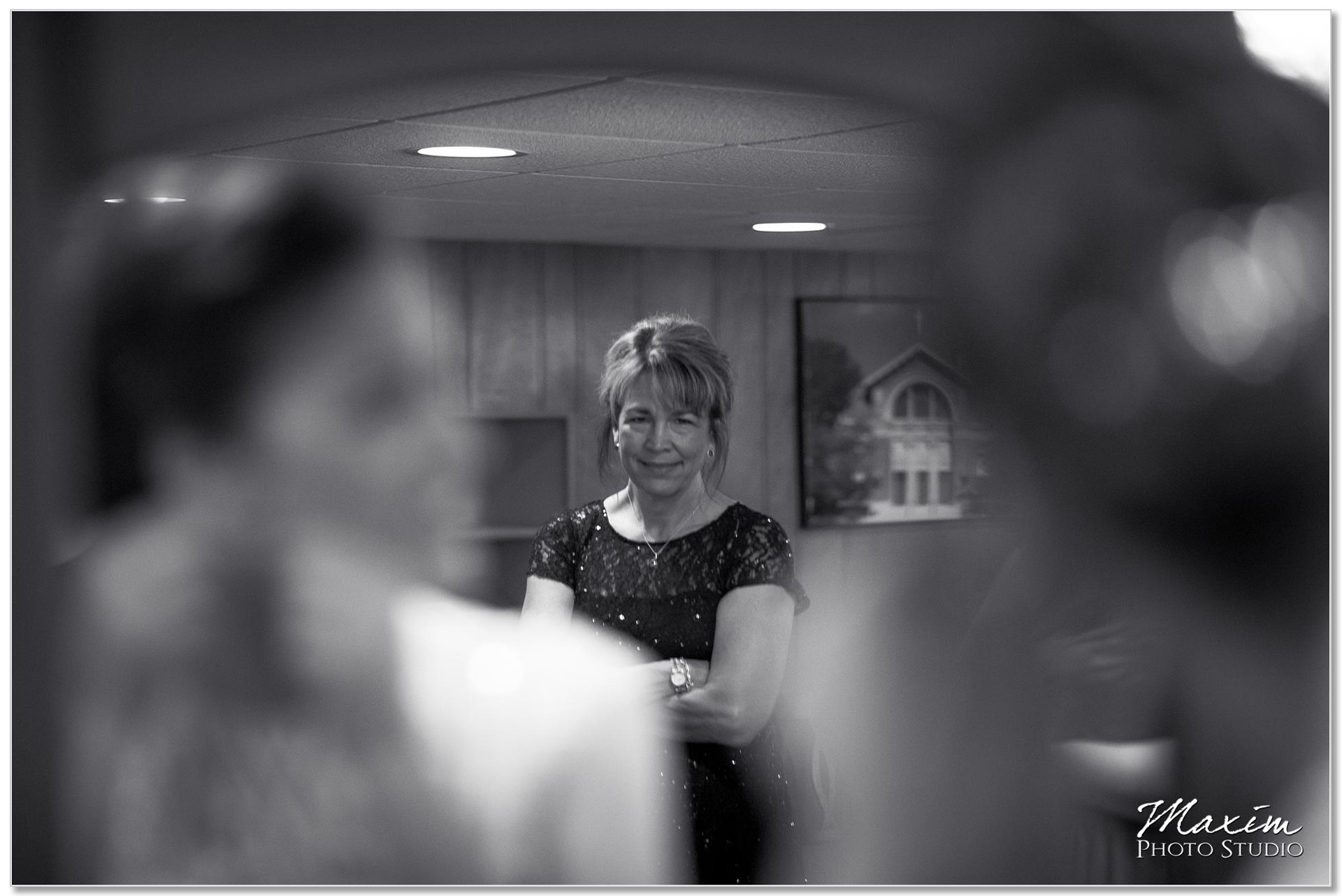 Dayton Ohio Wedding bride preparation