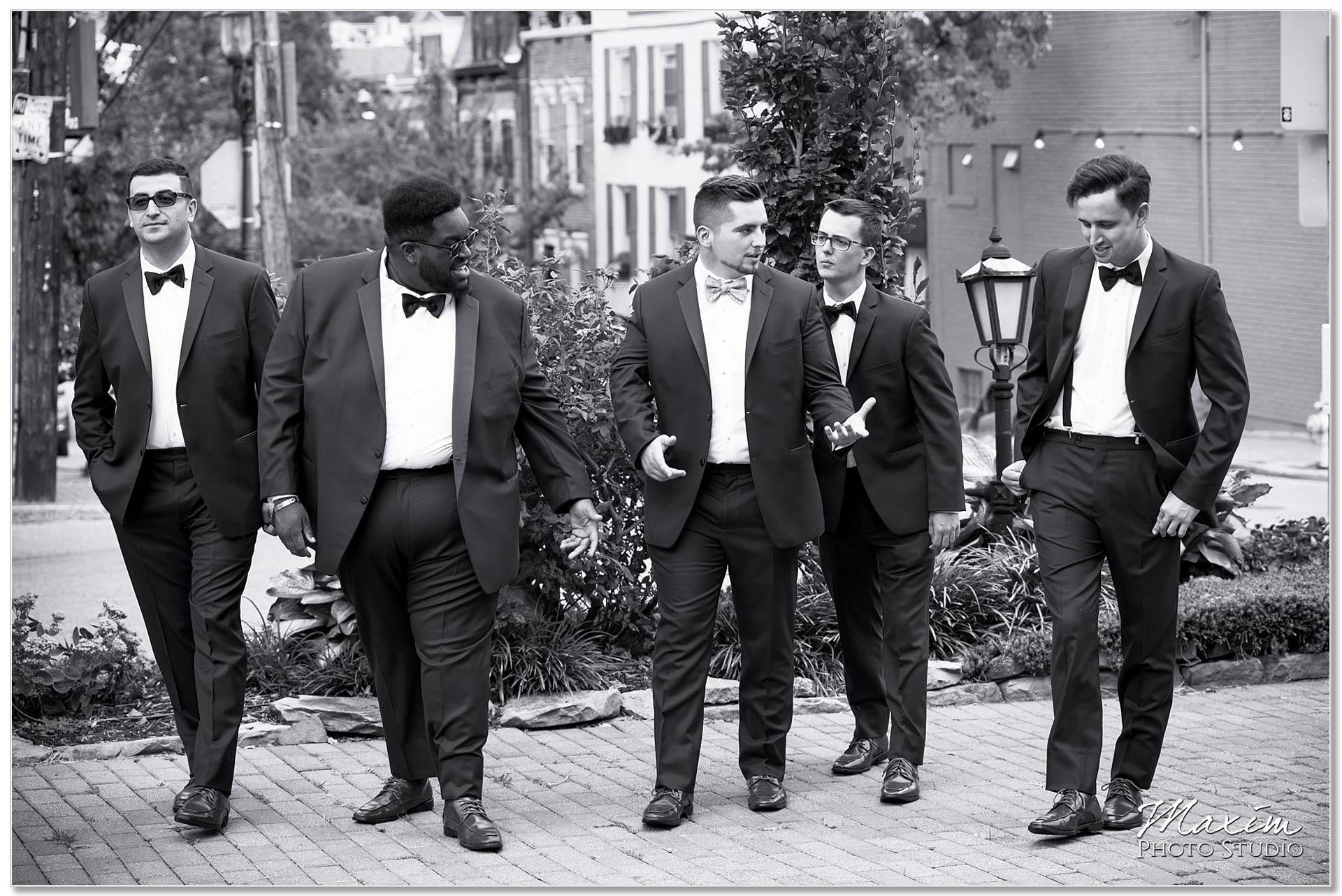 Groomsmen Cincinnati Wedding Mount Adams
