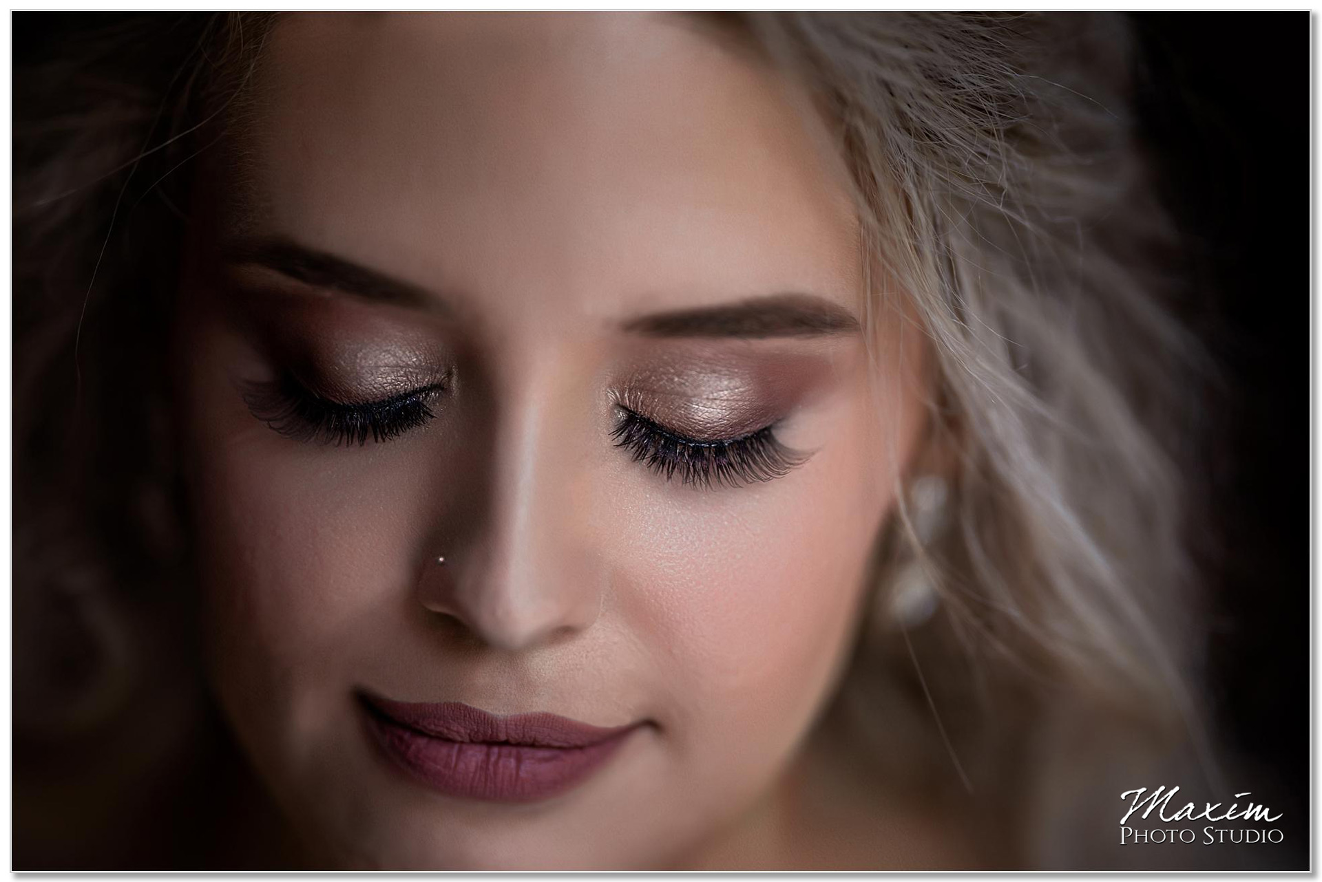 Lunatic Fringe Bride Cincinnati makeup