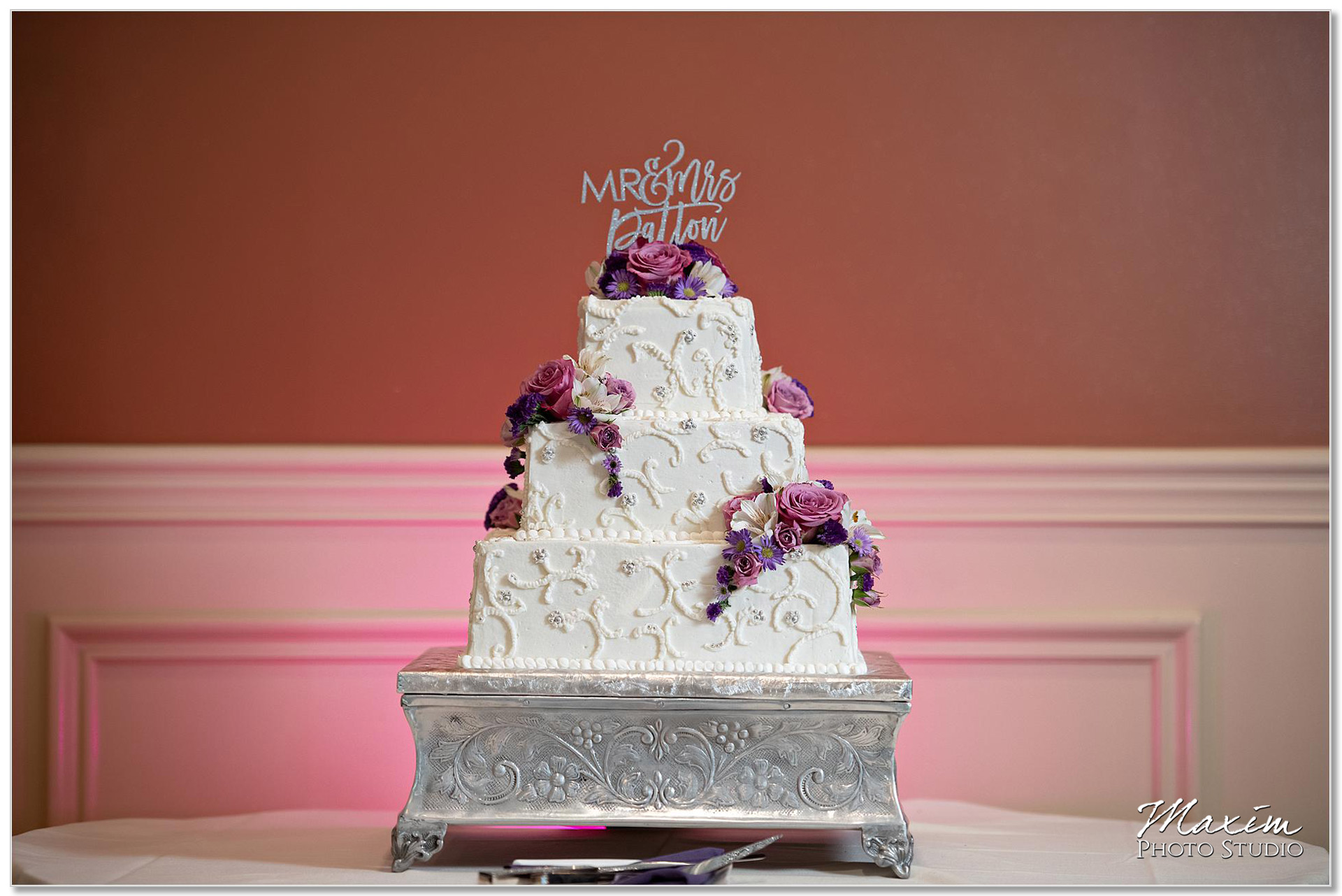 McHales Event and Catering cake