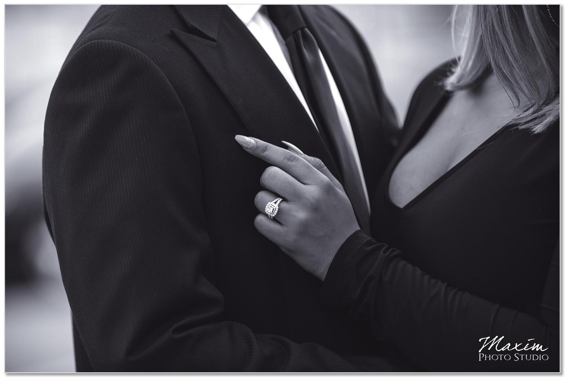 Secret wedding proposal Cincinnati ring