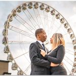 Secret wedding proposal Cincinnati SkyStar