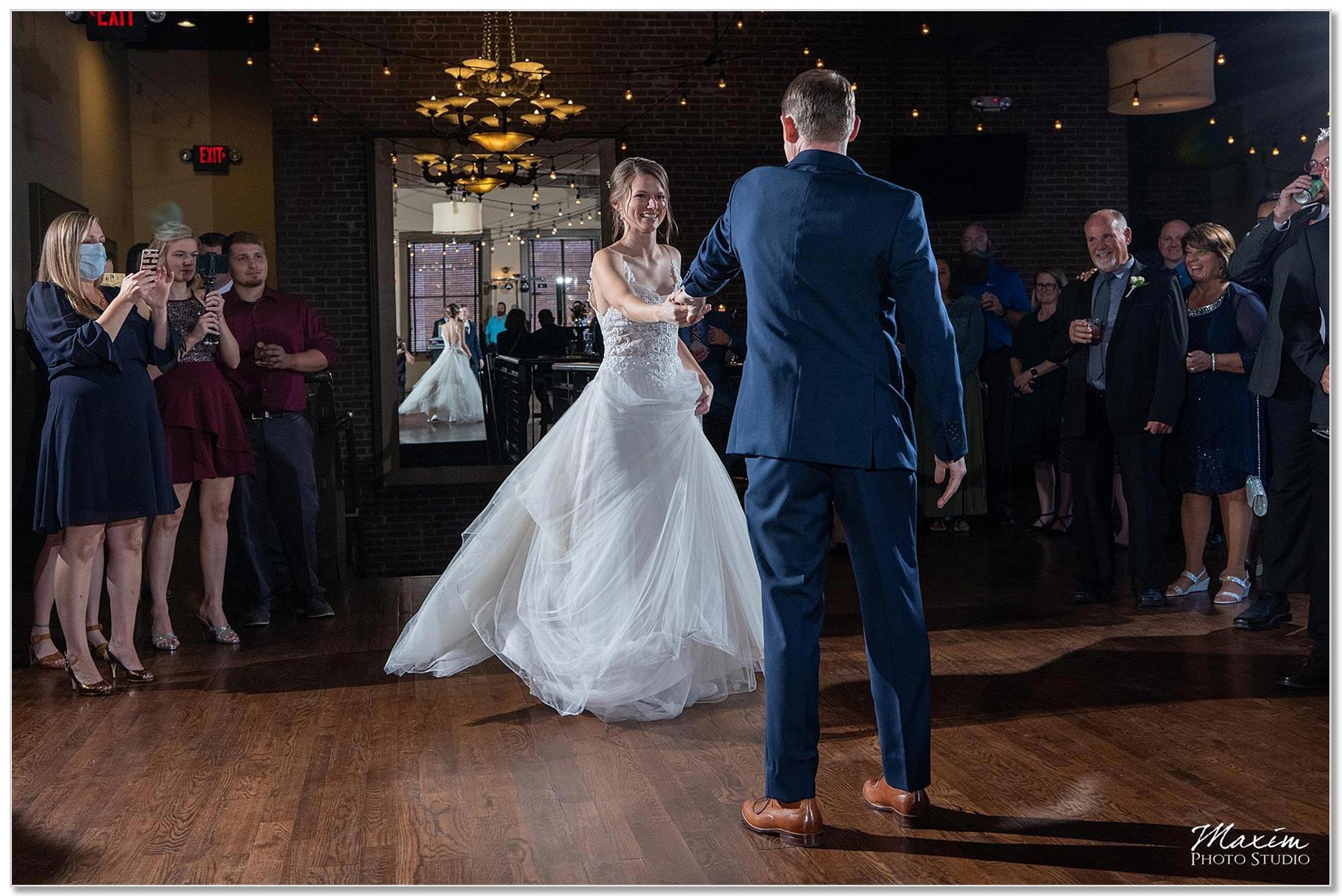 Wedding Reception First dance by Bud Walters
