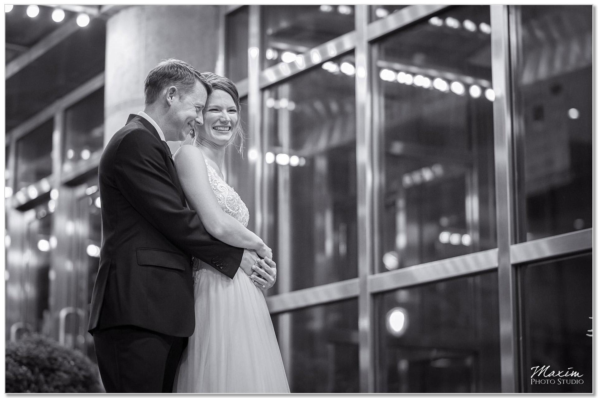 Aronoff Center Cincinnati Bride Groom