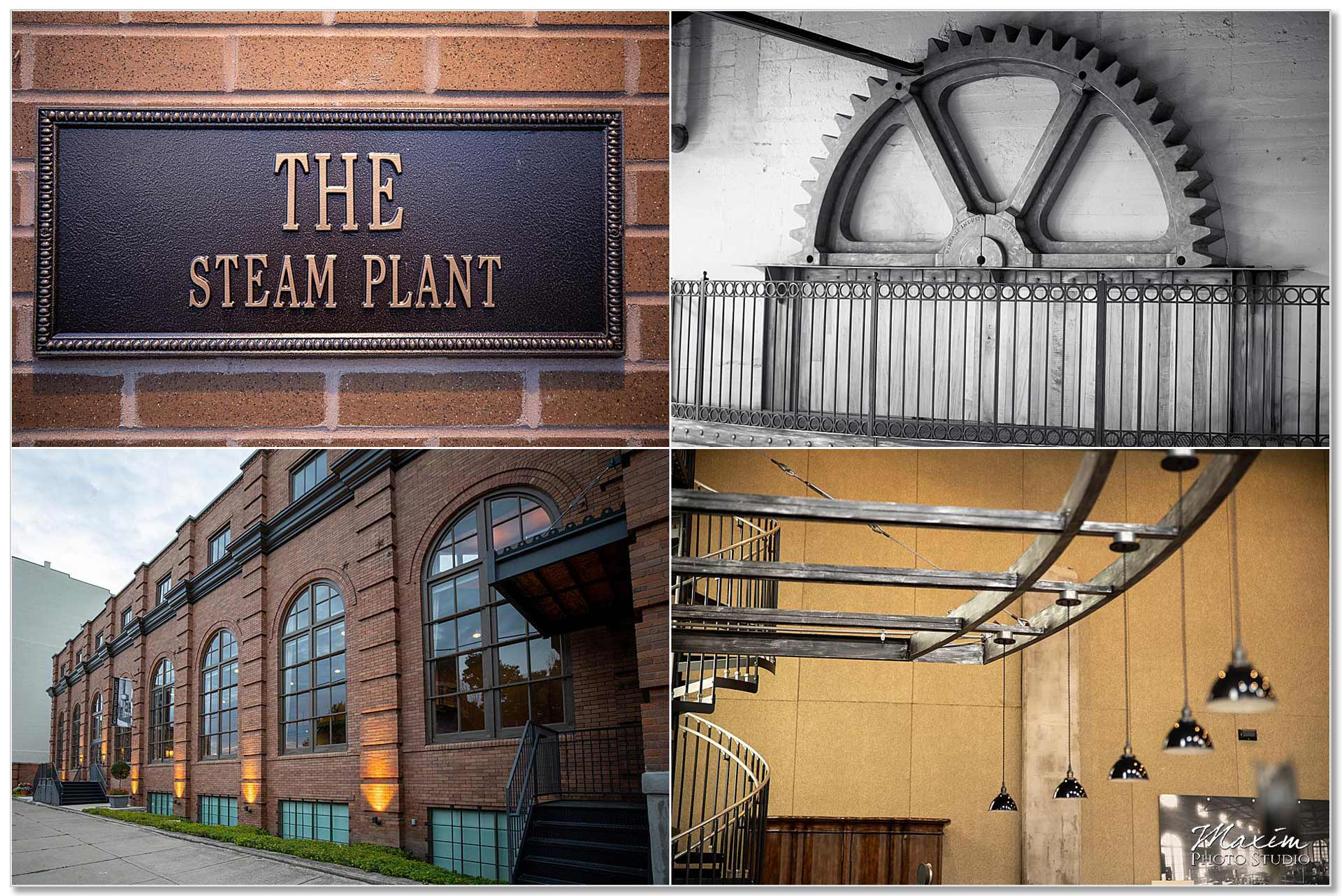 Steam Plant Dayton Ohio wedding
