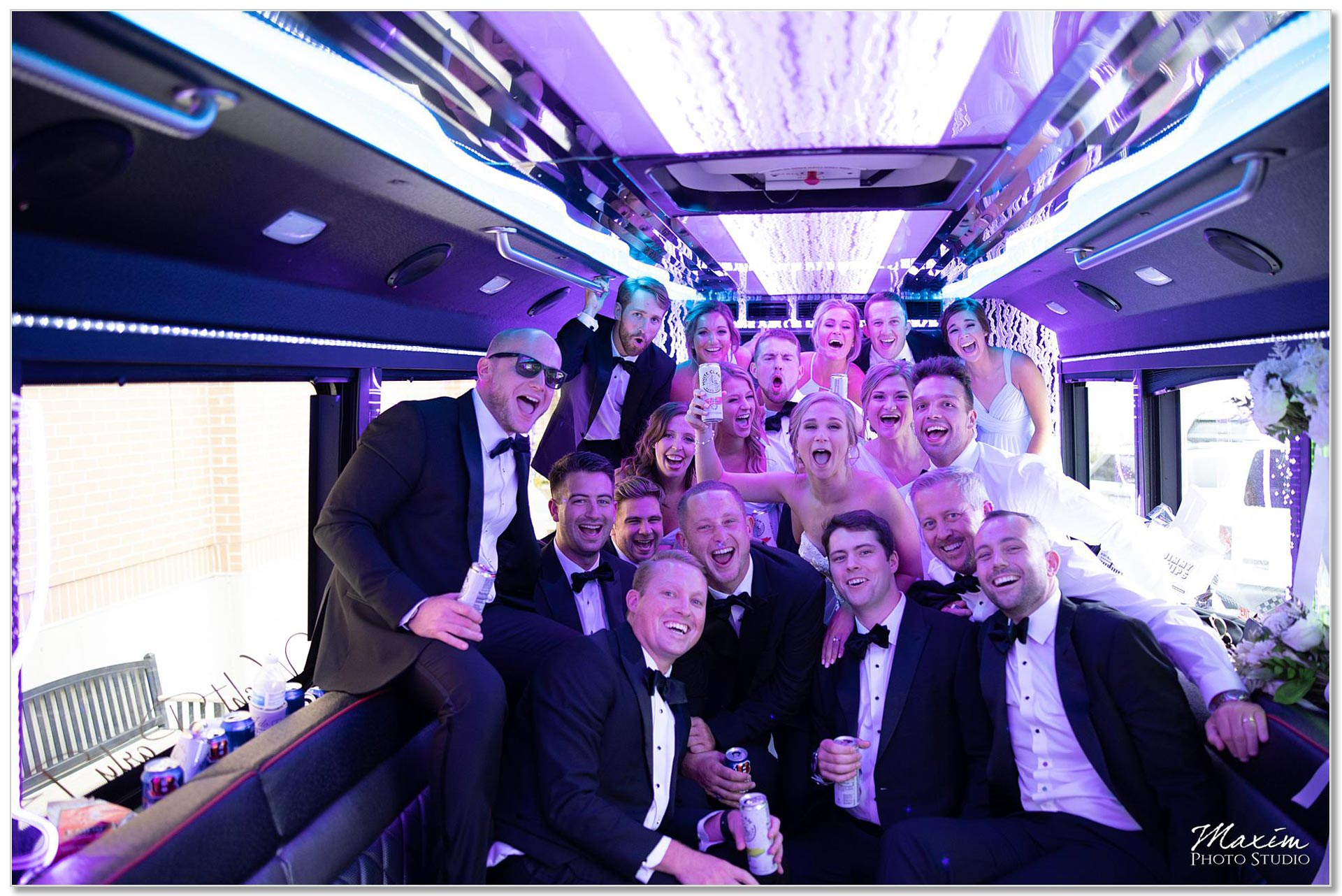 Wright Party Bus Dayton Ohio wedding