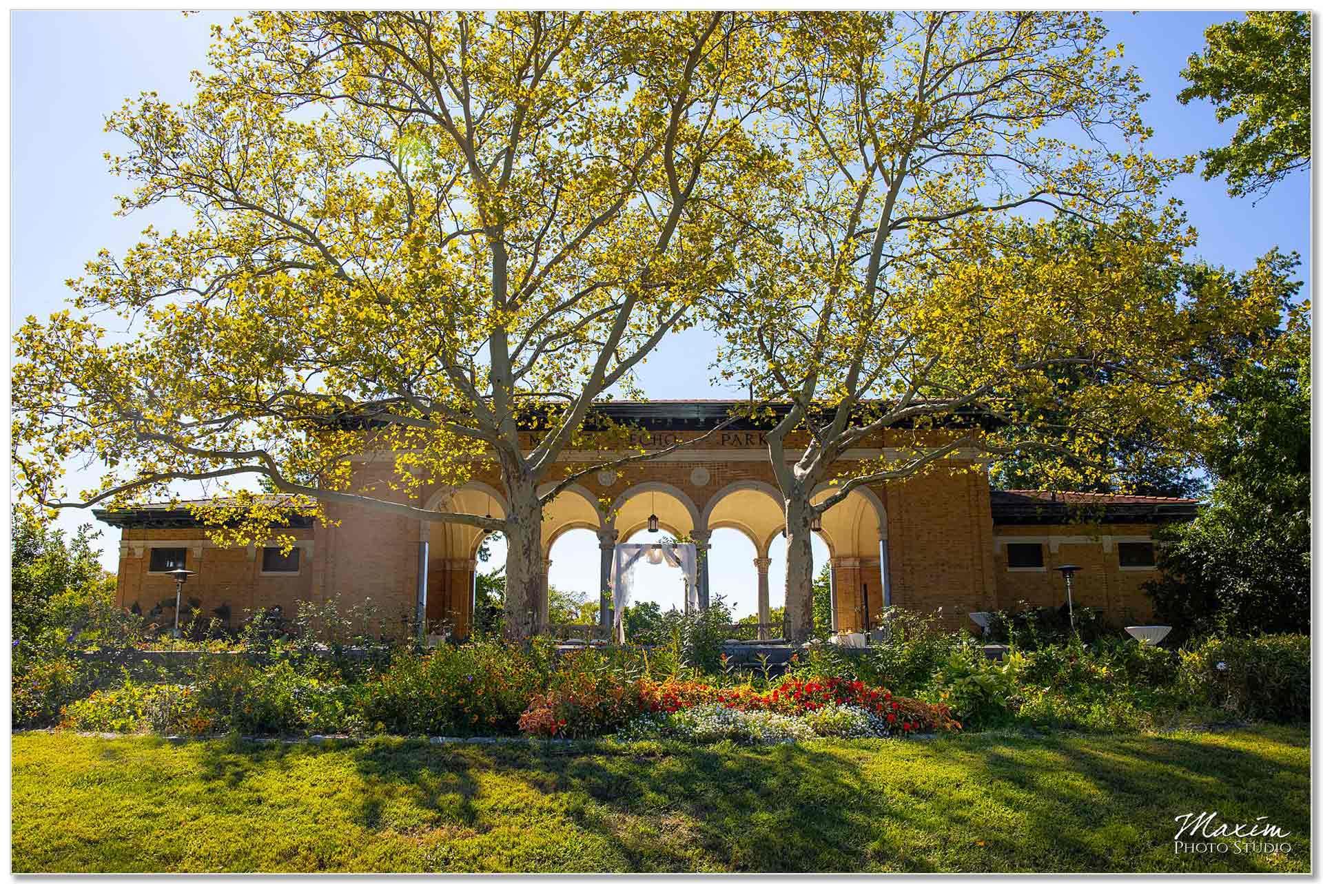 Mt. Echo Park Cincinnati Wedding Pavilion