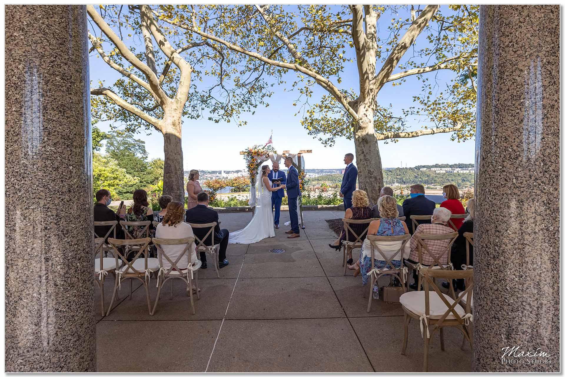 Mt. Echo Park Cincinnati Wedding Ceremony
