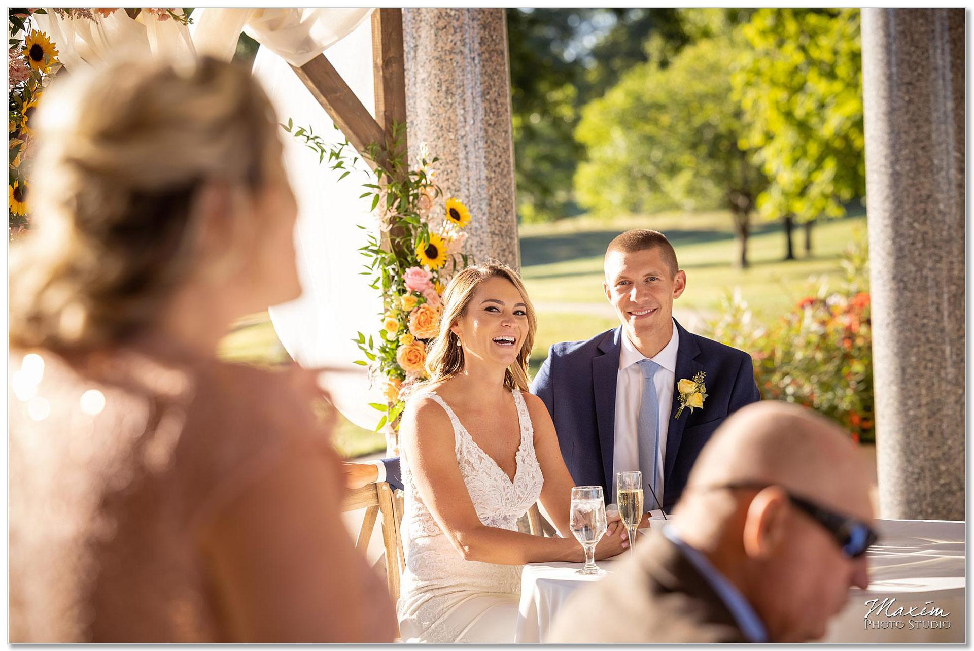 Mt. Echo Park Cincinnati Wedding Reception Toasts
