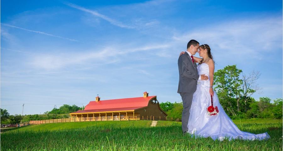 Canopy Creek Farm Wedding photography bride groom