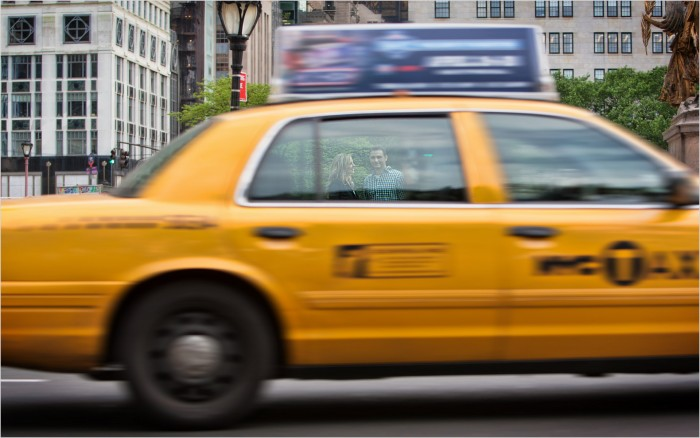 Central Park NYC Engagement Yellow Taxi