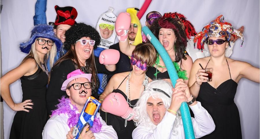 slow motion video booth Cincinnati wedding