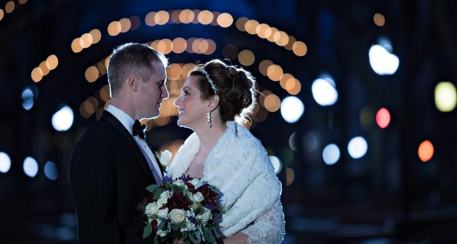 Garfield Park Cincinnati Wedding Bride groom