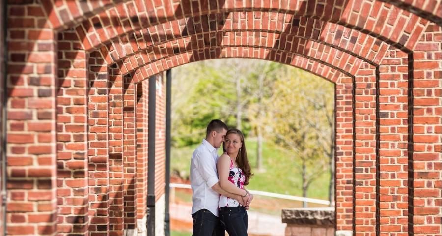 Columbus Engagement Photography, Nationwide Arena Columbus Engagement