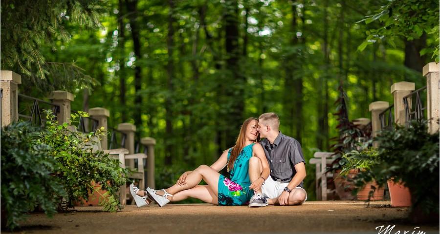 Columbus Wedding Photographers Inniswood Metropark engagement